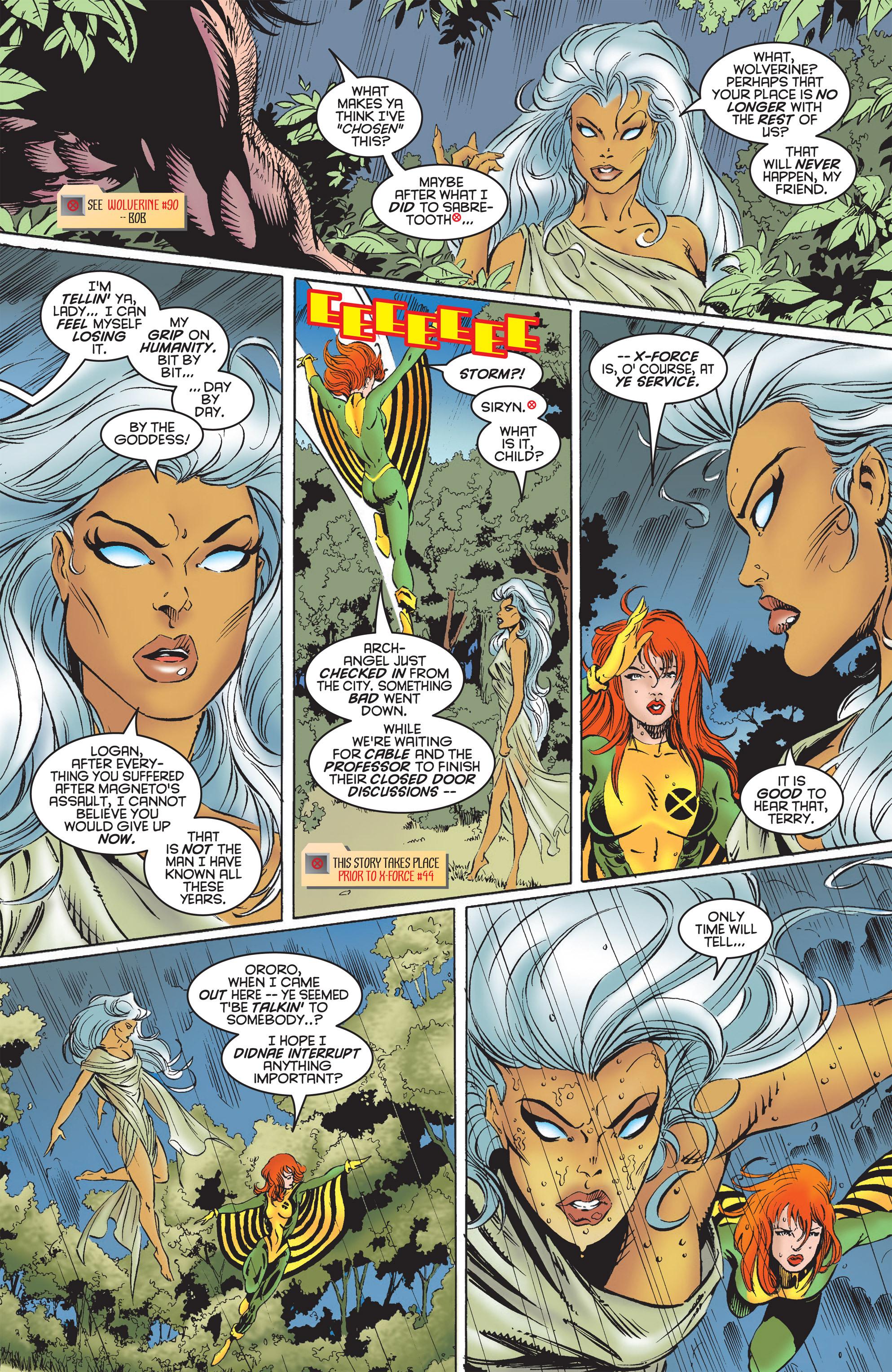 Read online Uncanny X-Men (1963) comic -  Issue #322 - 7