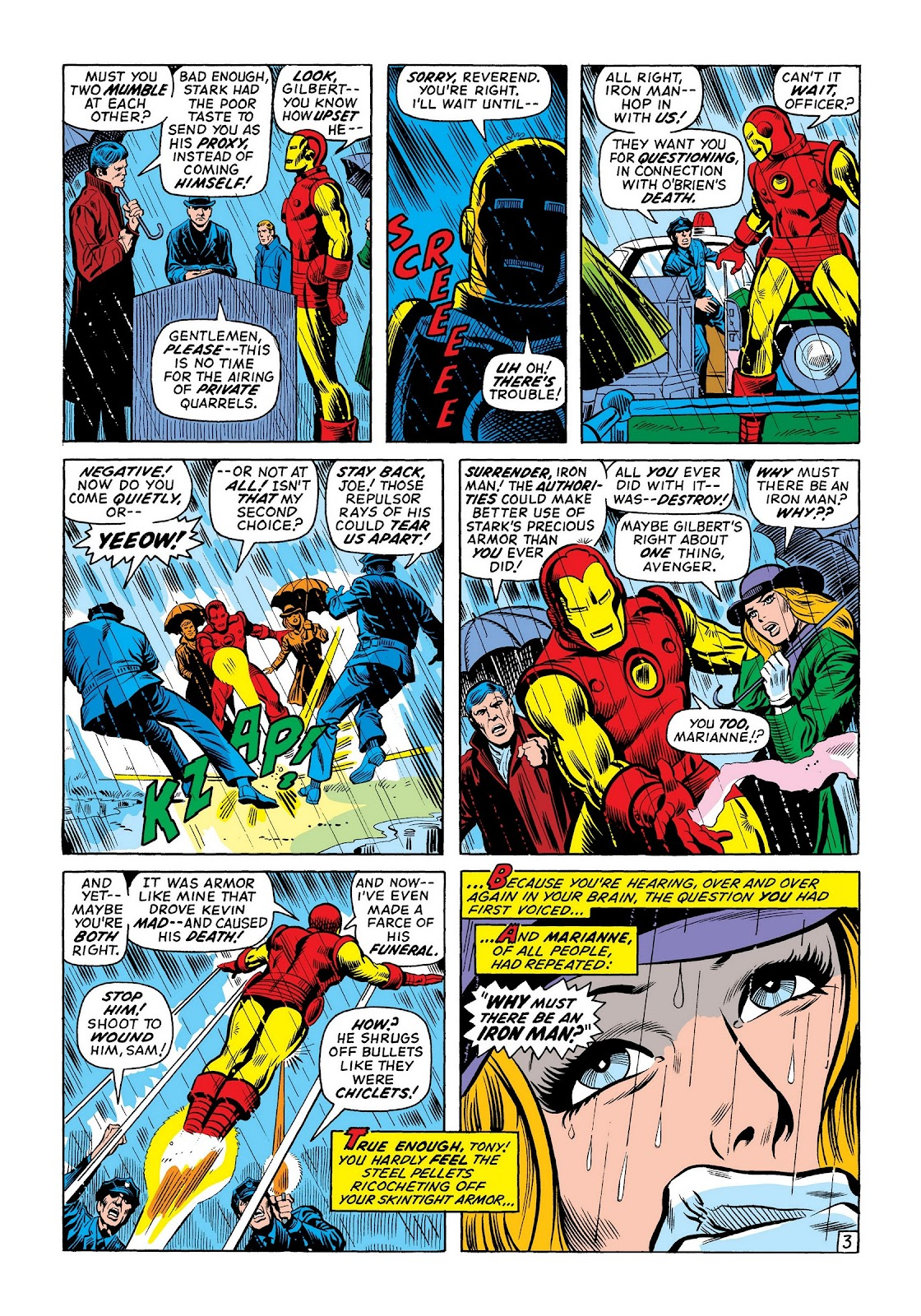 Read online Marvel Masterworks: The Invincible Iron Man comic -  Issue # TPB 8 (Part 2) - 69