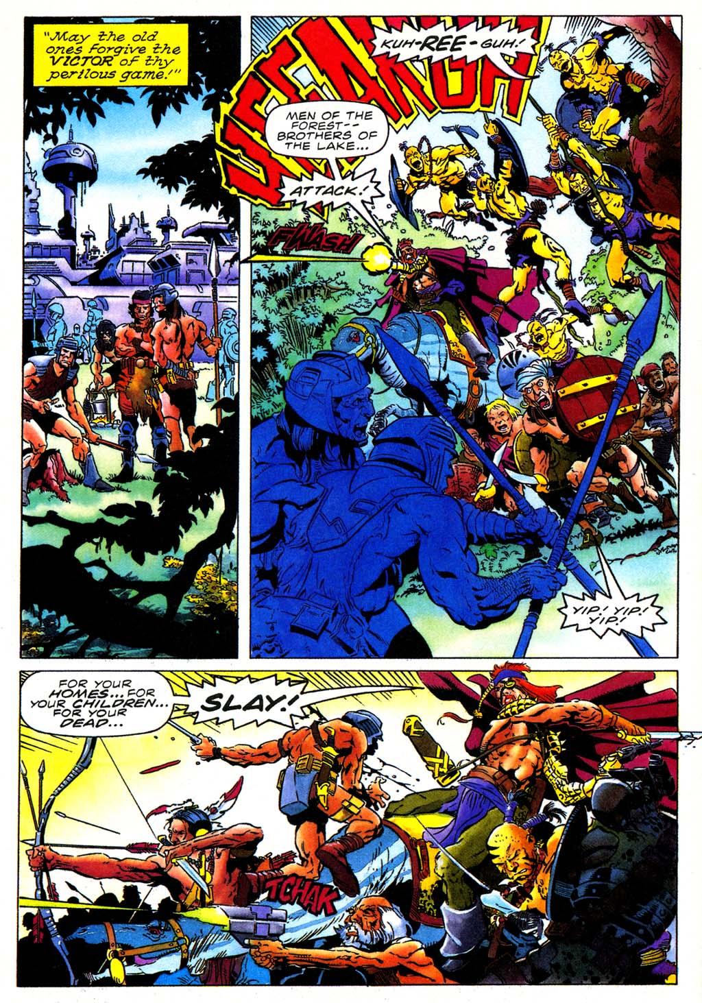 Read online Turok, Dinosaur Hunter (1993) comic -  Issue #27 - 9