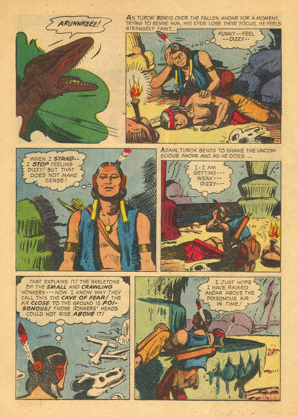 Read online Turok, Son of Stone comic -  Issue #23 - 12