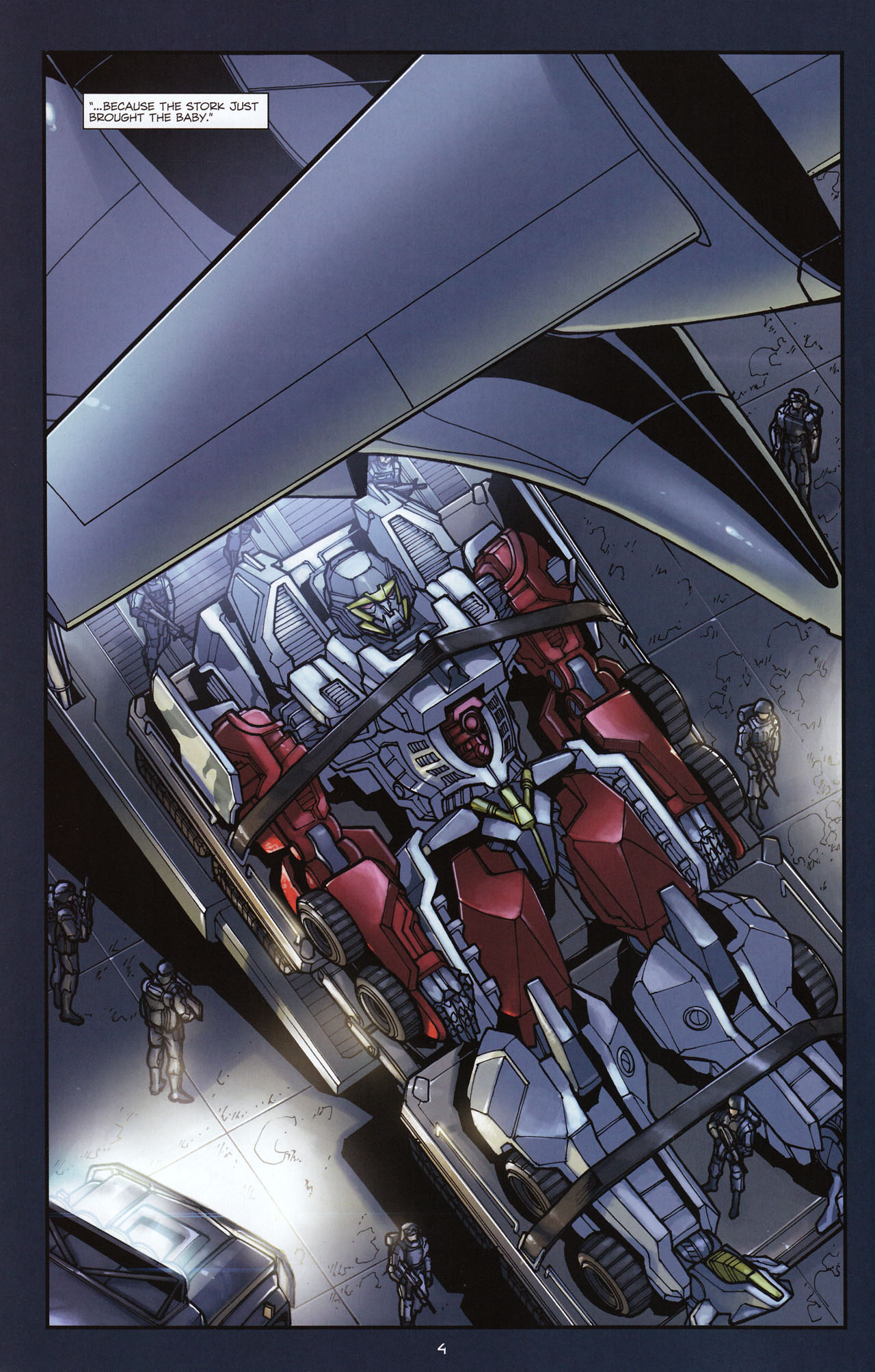 Read online Transformers: Alliance comic -  Issue #1 - 7