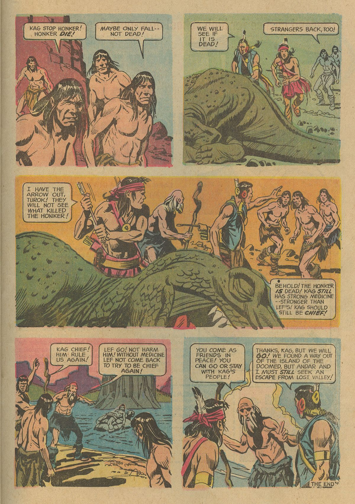 Read online Turok, Son of Stone comic -  Issue #74 - 32