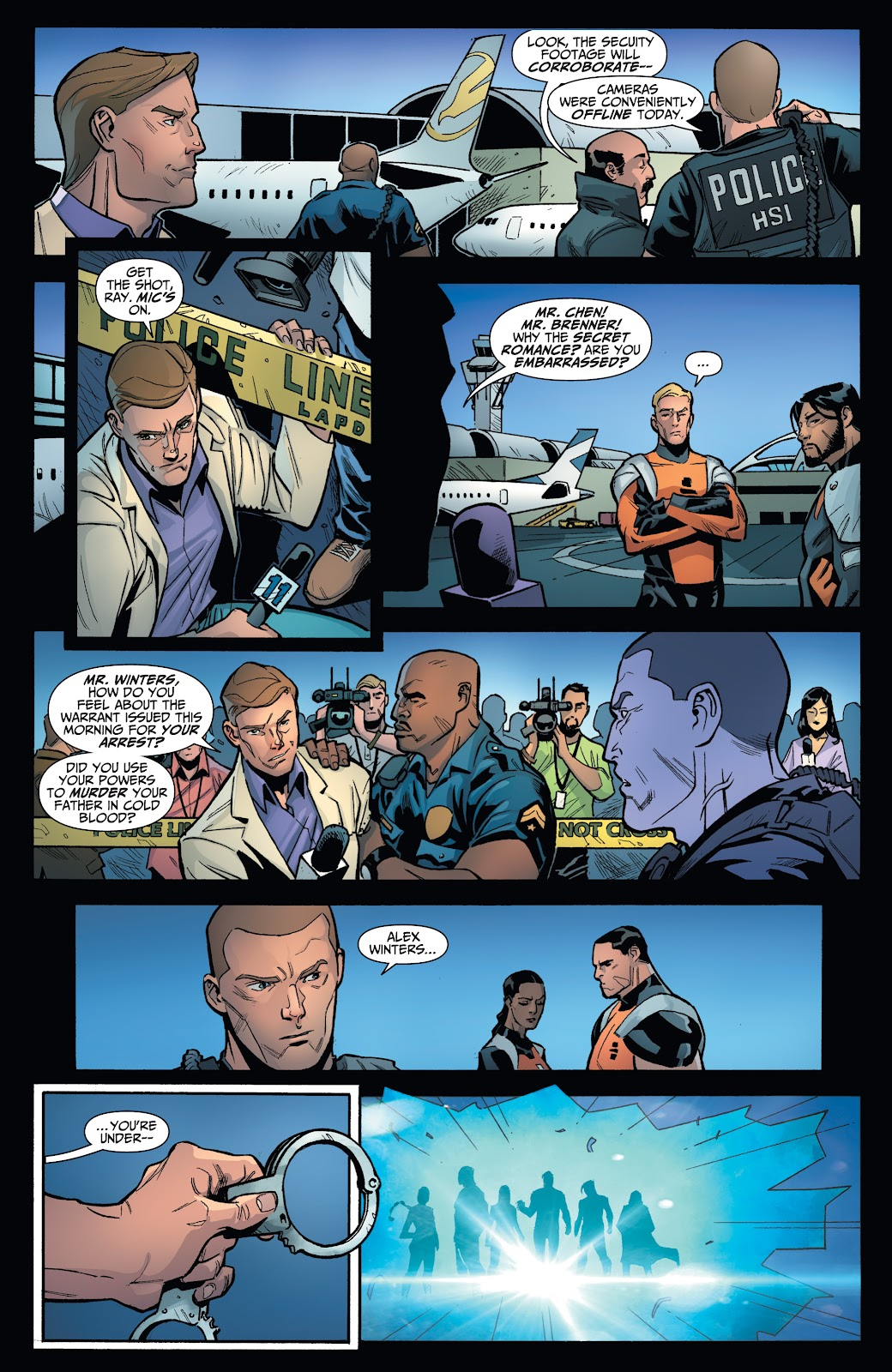 Read online Incidentals comic -  Issue #18 - 7