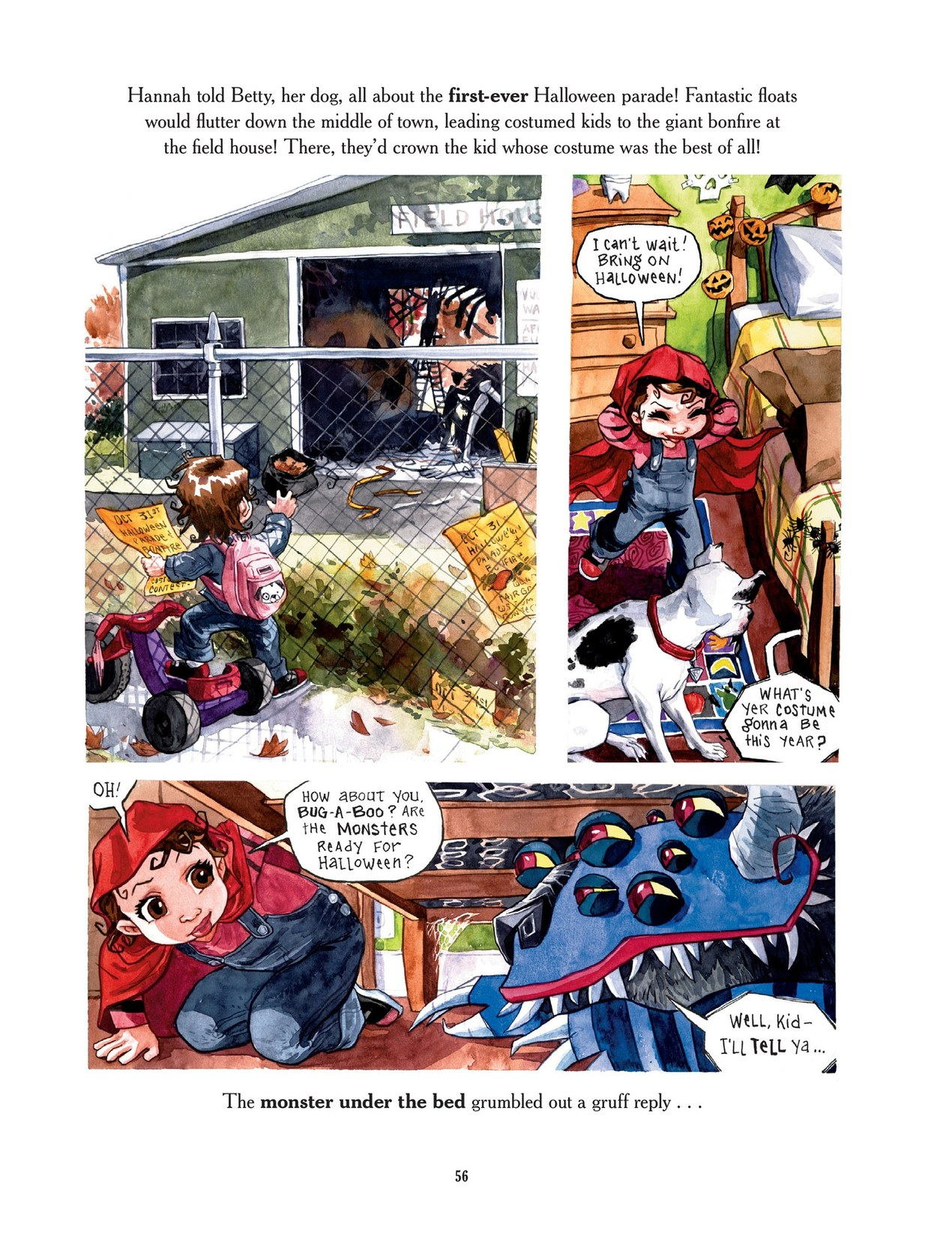 Read online Scary Godmother comic -  Issue # TPB - 56