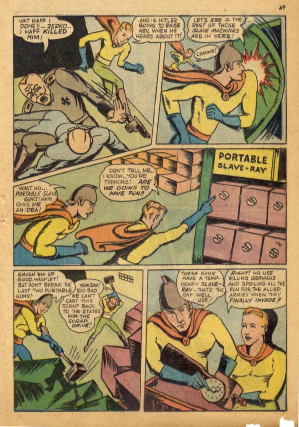 Read online Shadow Comics comic -  Issue #32 - 50