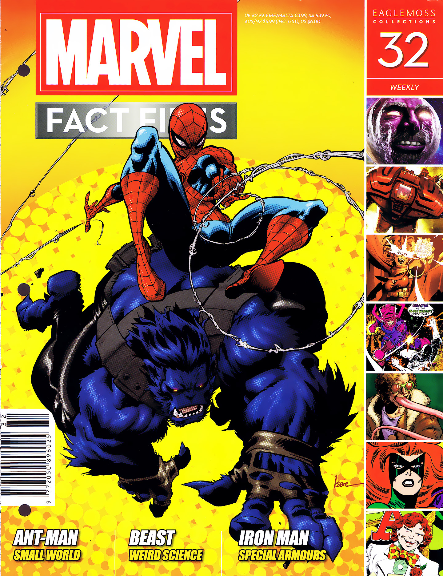 Marvel Fact Files 32 Page 1