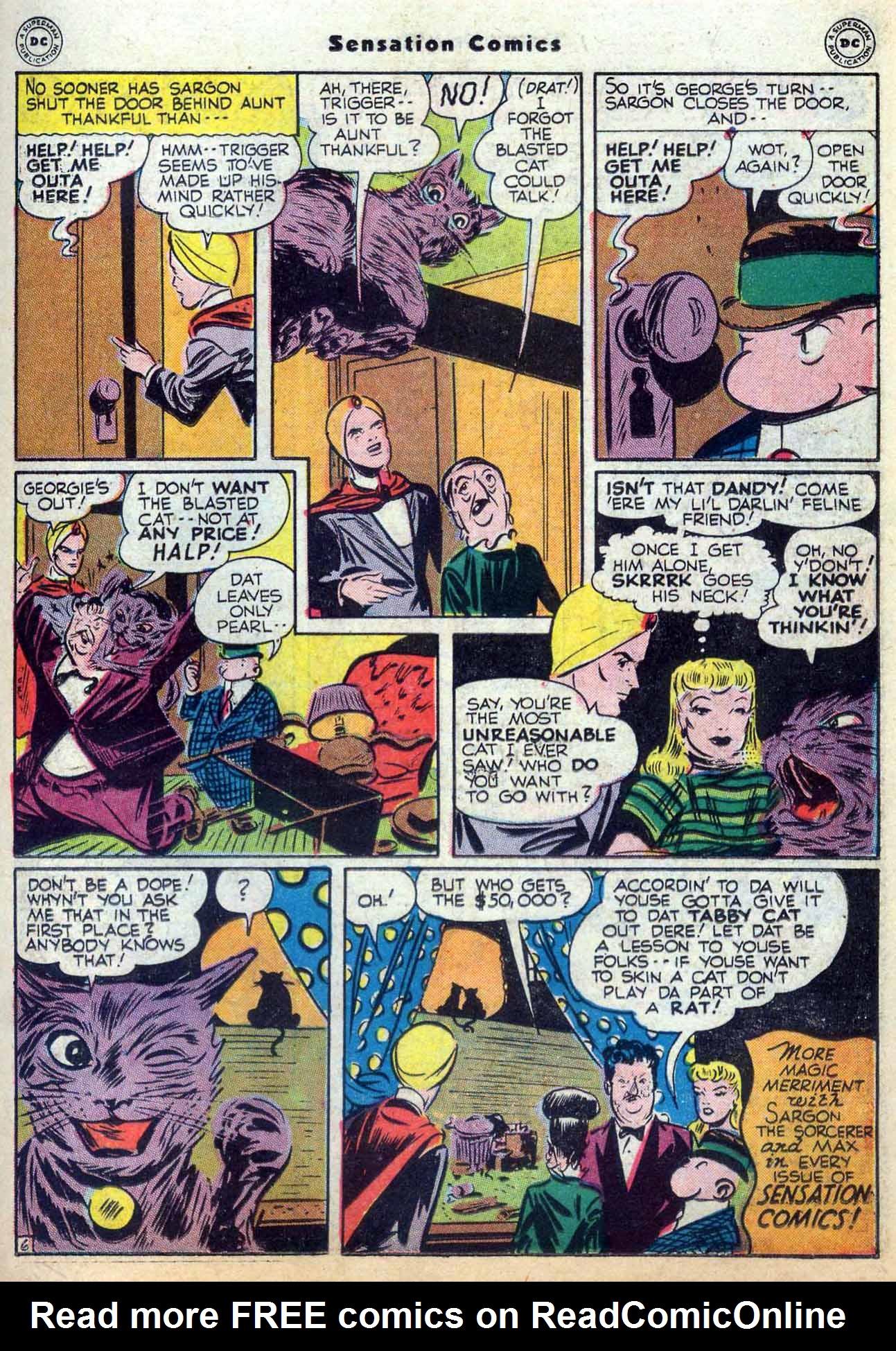 Read online Sensation (Mystery) Comics comic -  Issue #59 - 29