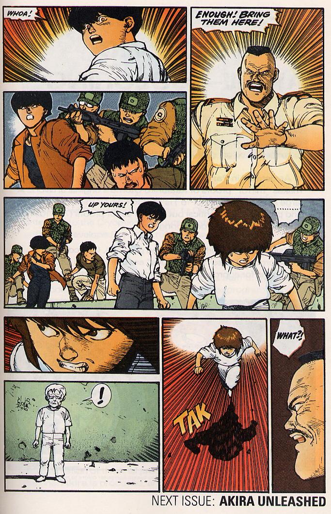 Read online Akira comic -  Issue #15 - 62