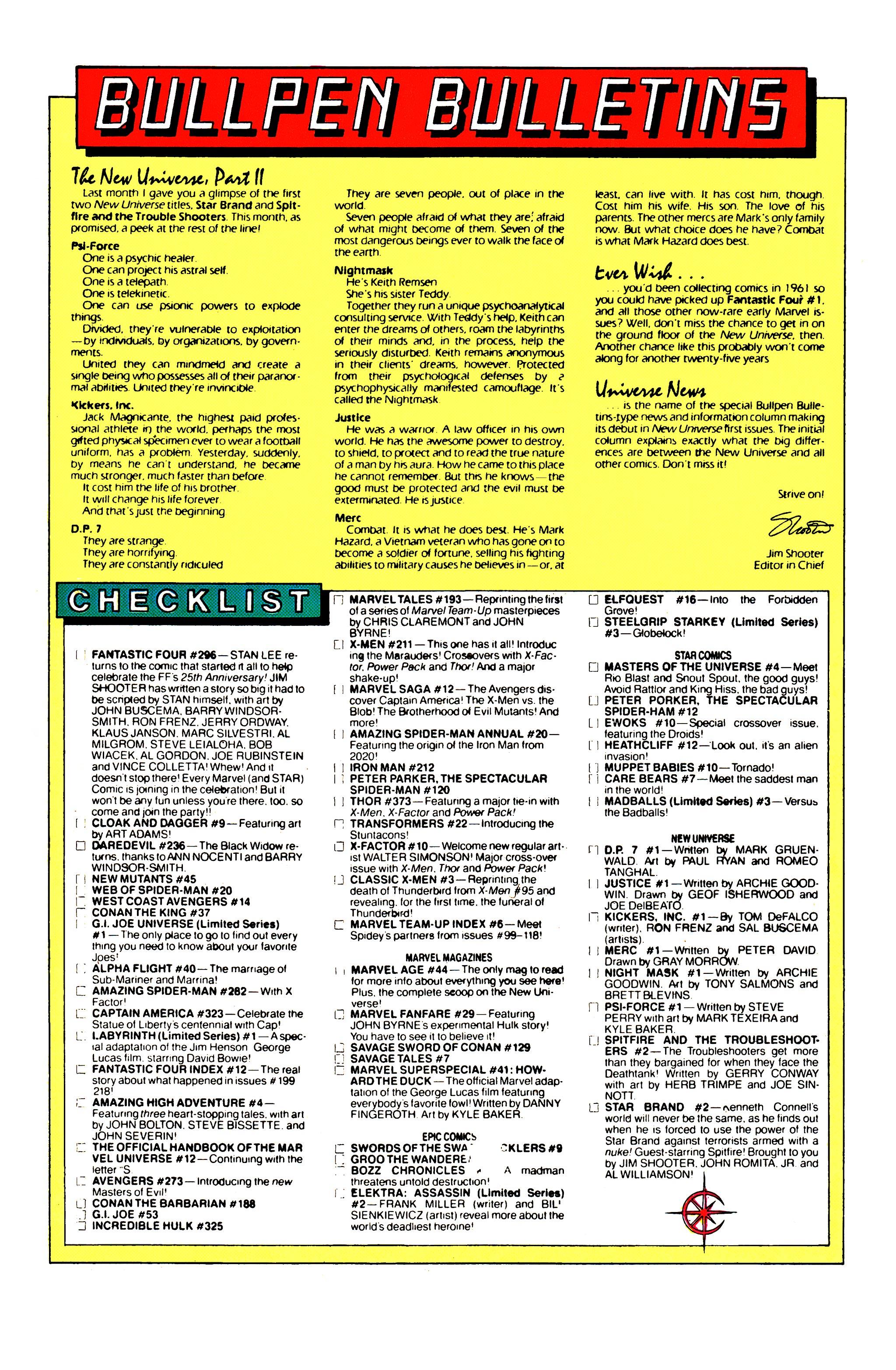 Read online Uncanny X-Men (1963) comic -  Issue #211 - 22