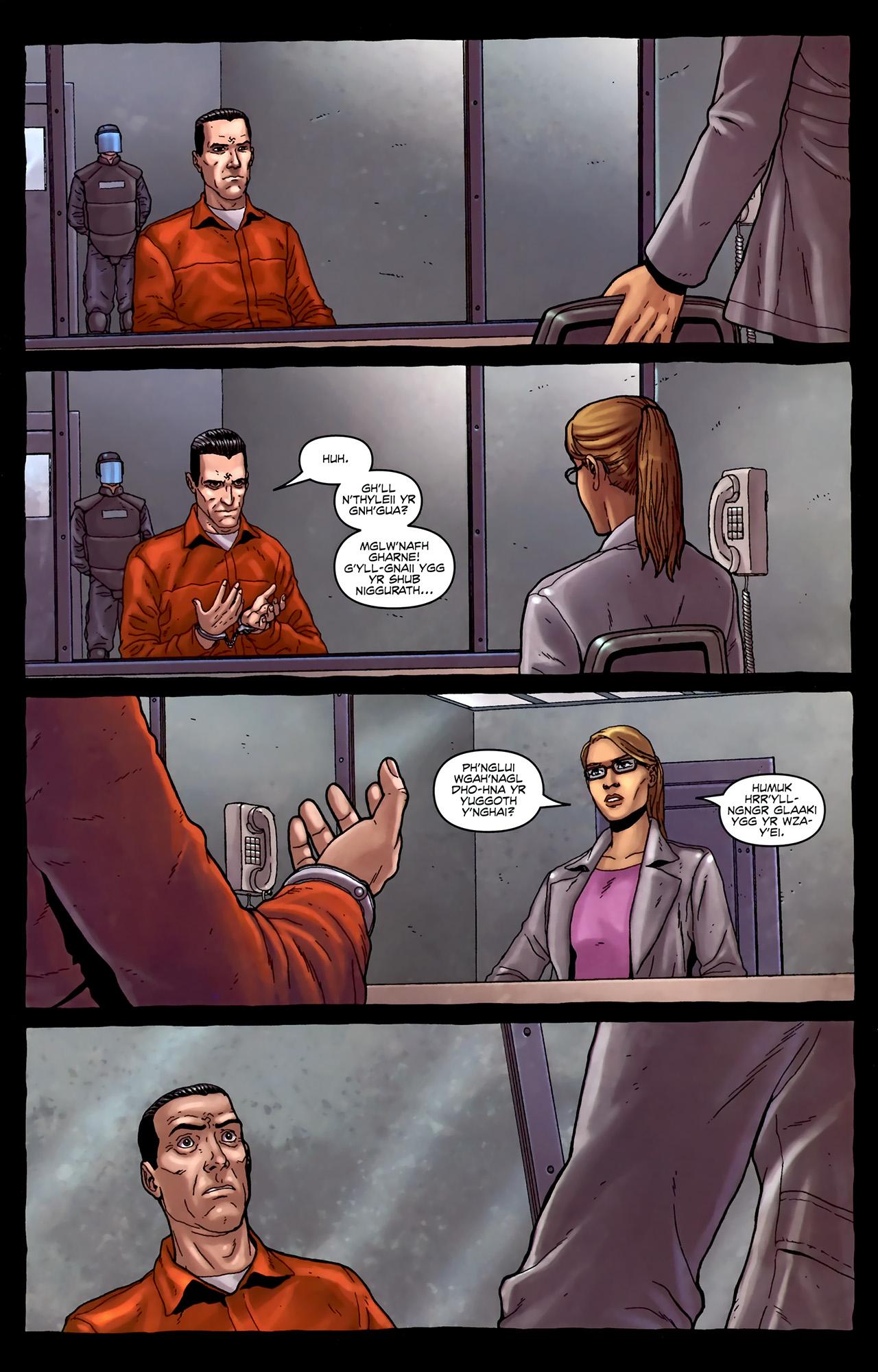 Read online Alan Moore's Neonomicon comic -  Issue #4 - 23