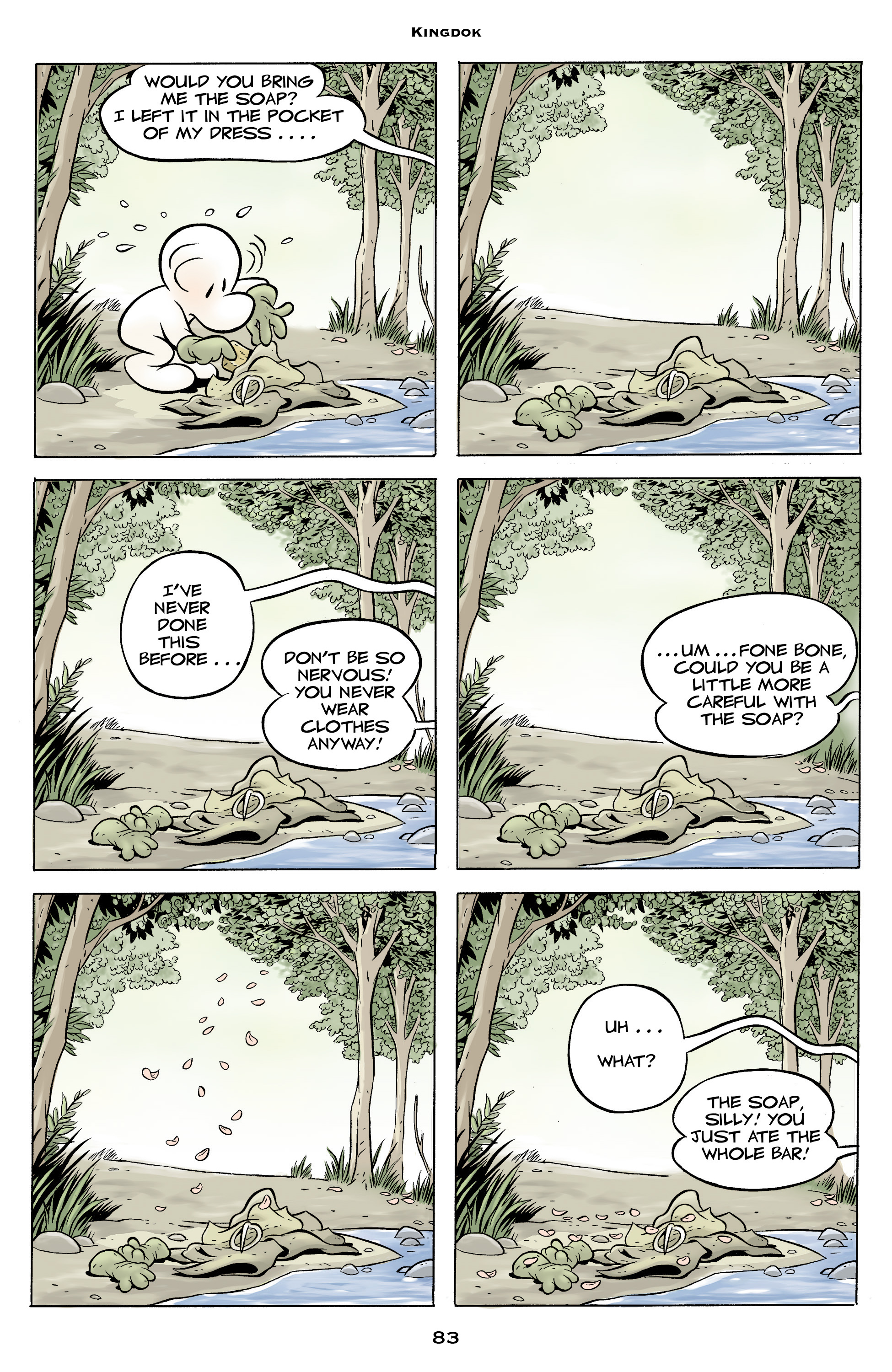 Read online Bone: Out From Boneville comic -  Issue # TPB - 83