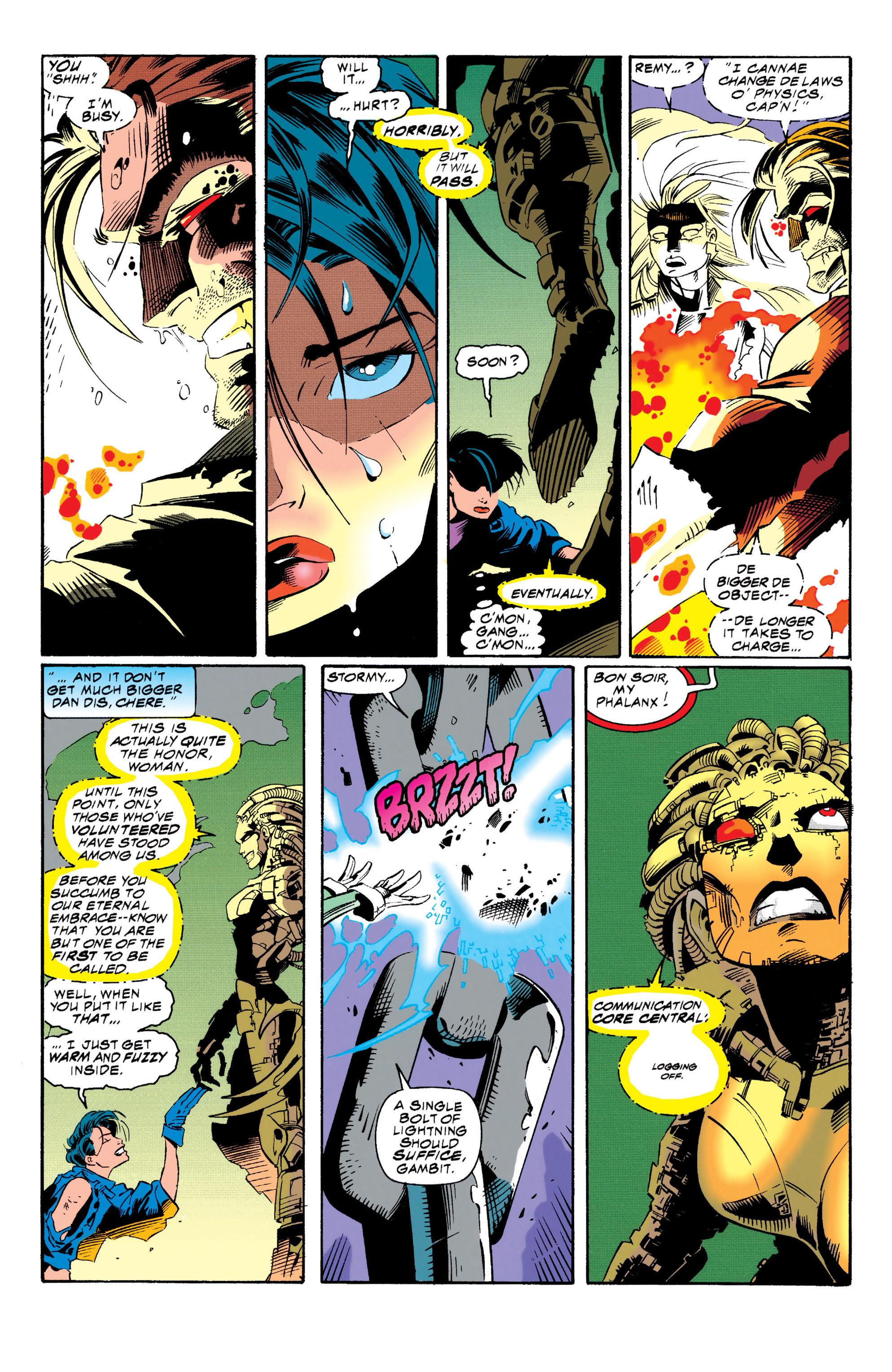 Read online Uncanny X-Men (1963) comic -  Issue #313 - 17