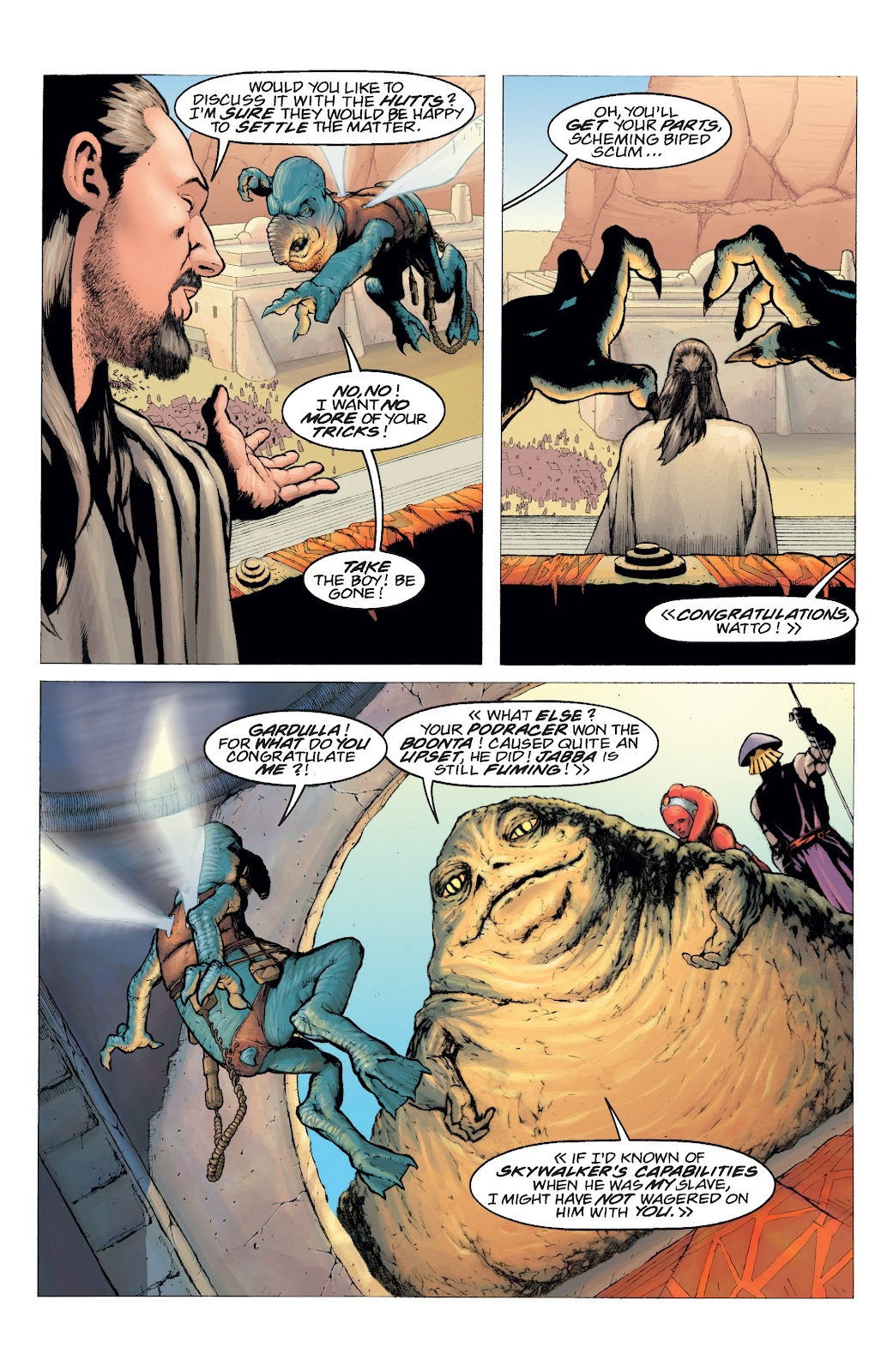 Read online Star Wars Legends: Rise of the Sith - Epic Collection comic -  Issue # TPB 2 (Part 4) - 92