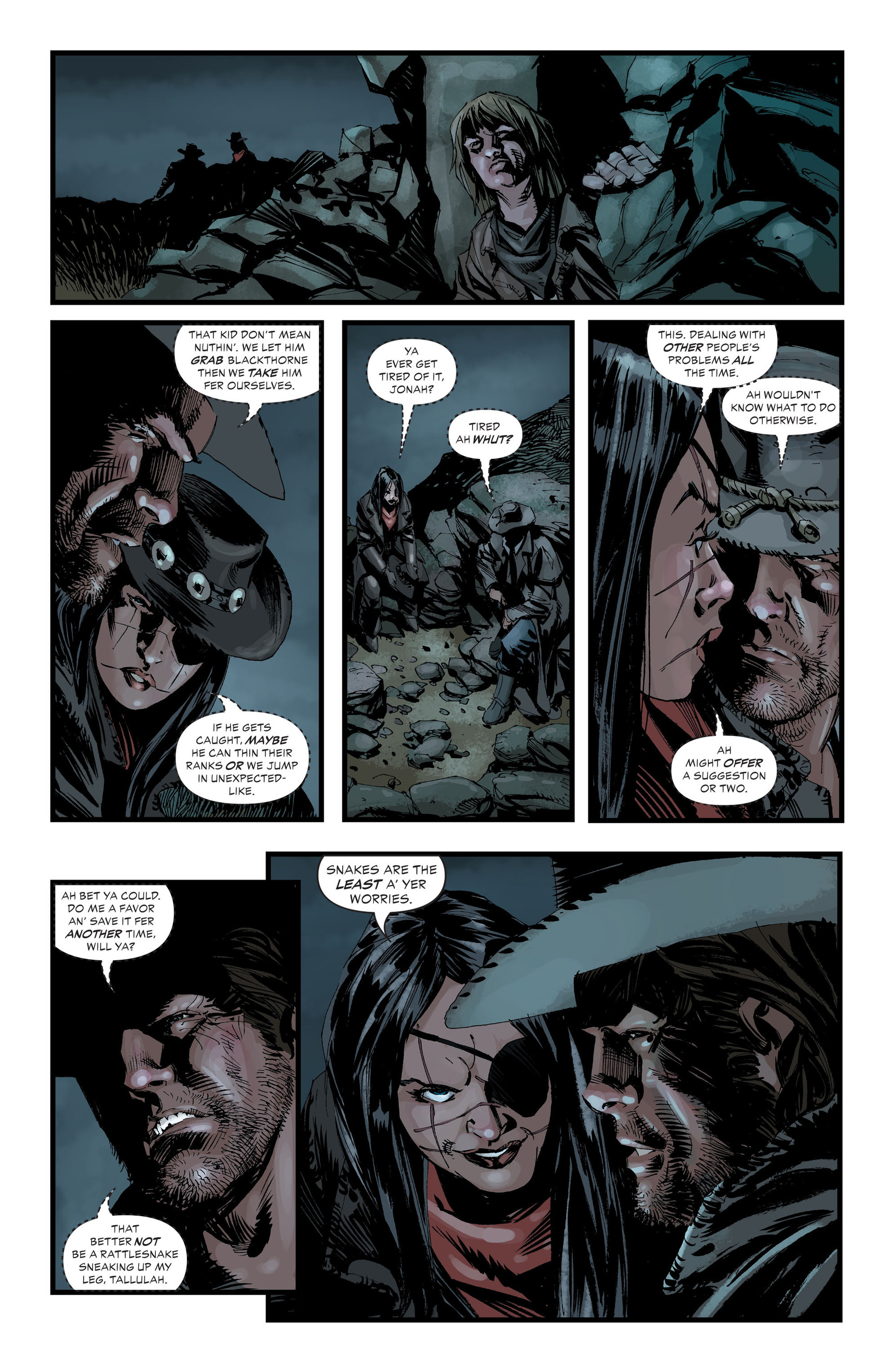 Read online All-Star Western (2011) comic -  Issue #33 - 11