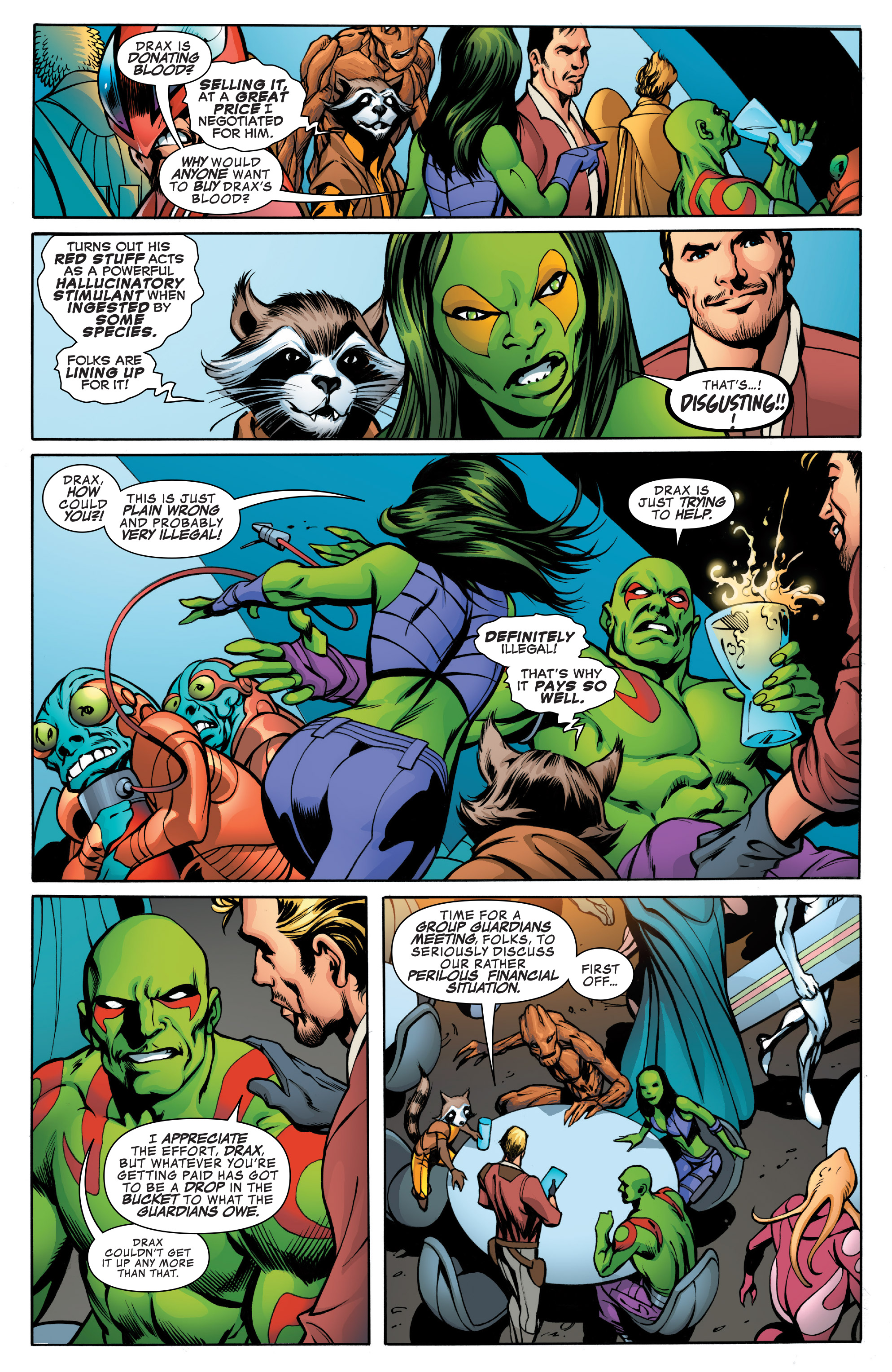 Read online Guardians of the Galaxy: Mother Entropy comic -  Issue #1 - 6