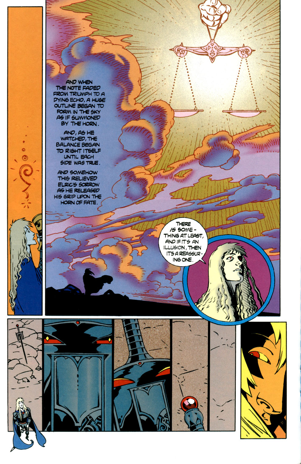 Read online Elric: Stormbringer comic -  Issue #7 - 26
