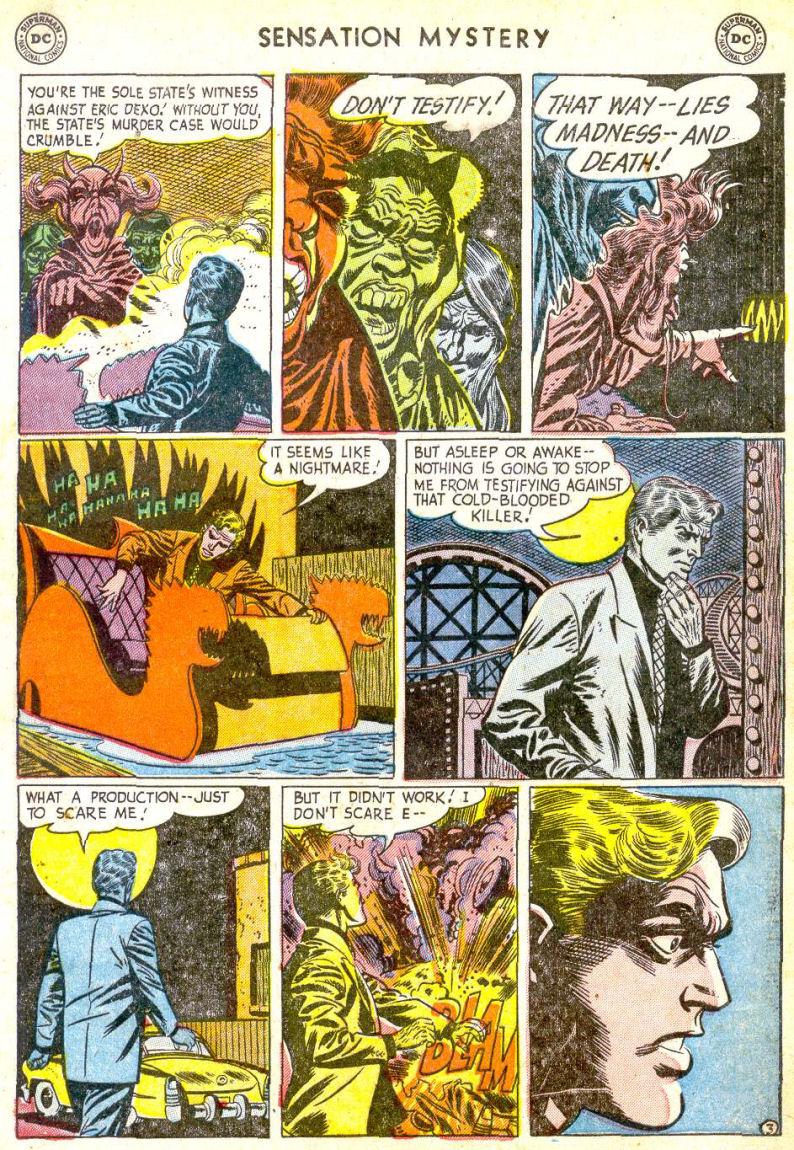 Read online Sensation (Mystery) Comics comic -  Issue #113 - 5