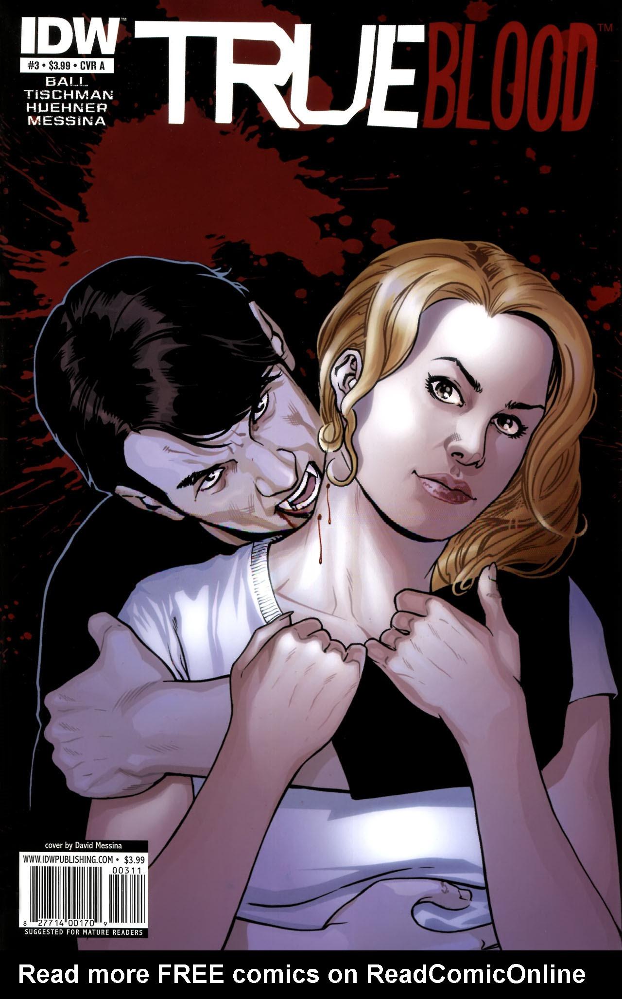Read online True Blood (2010) comic -  Issue #3 - 1