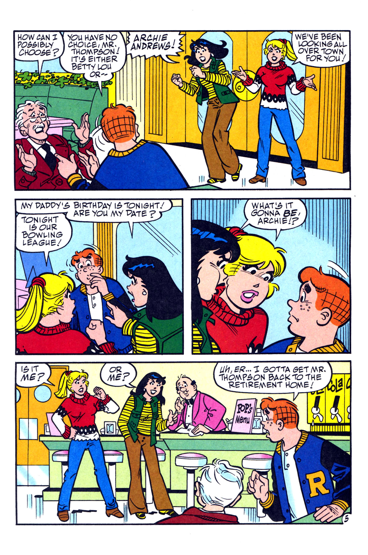 Read online Archie (1960) comic -  Issue #579 - 17