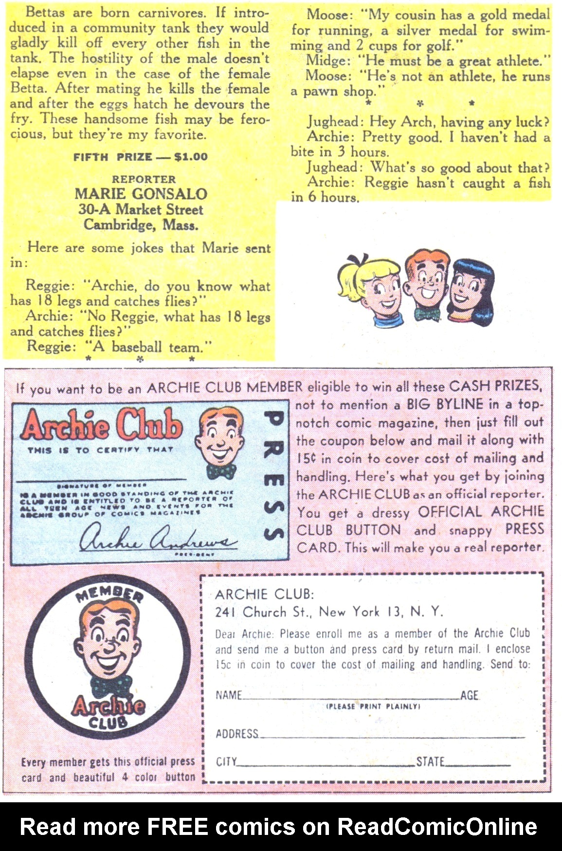 Read online Archie (1960) comic -  Issue #117 - 27