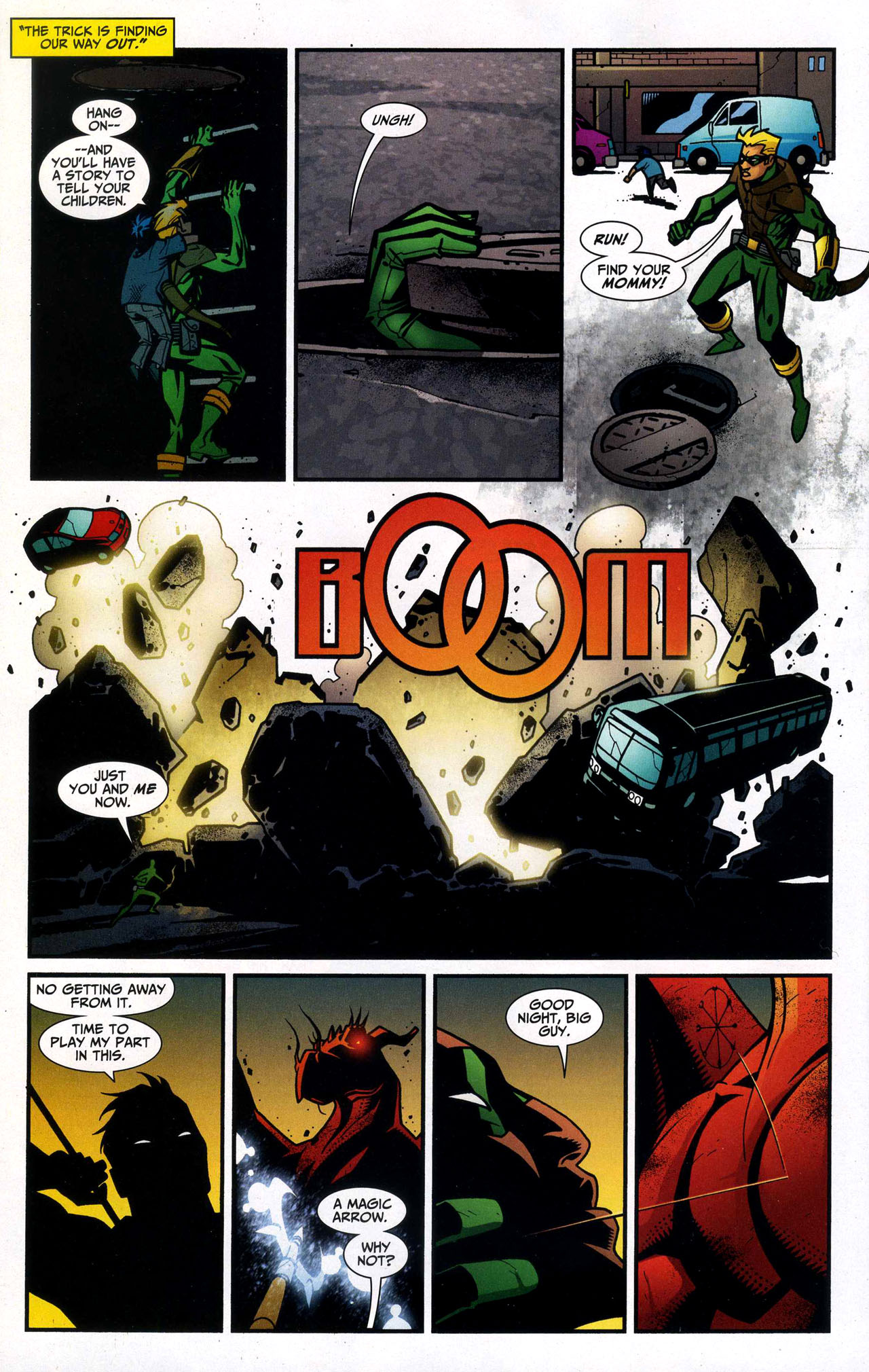 Read online Connor Hawke:  Dragon's Blood comic -  Issue #5 - 15