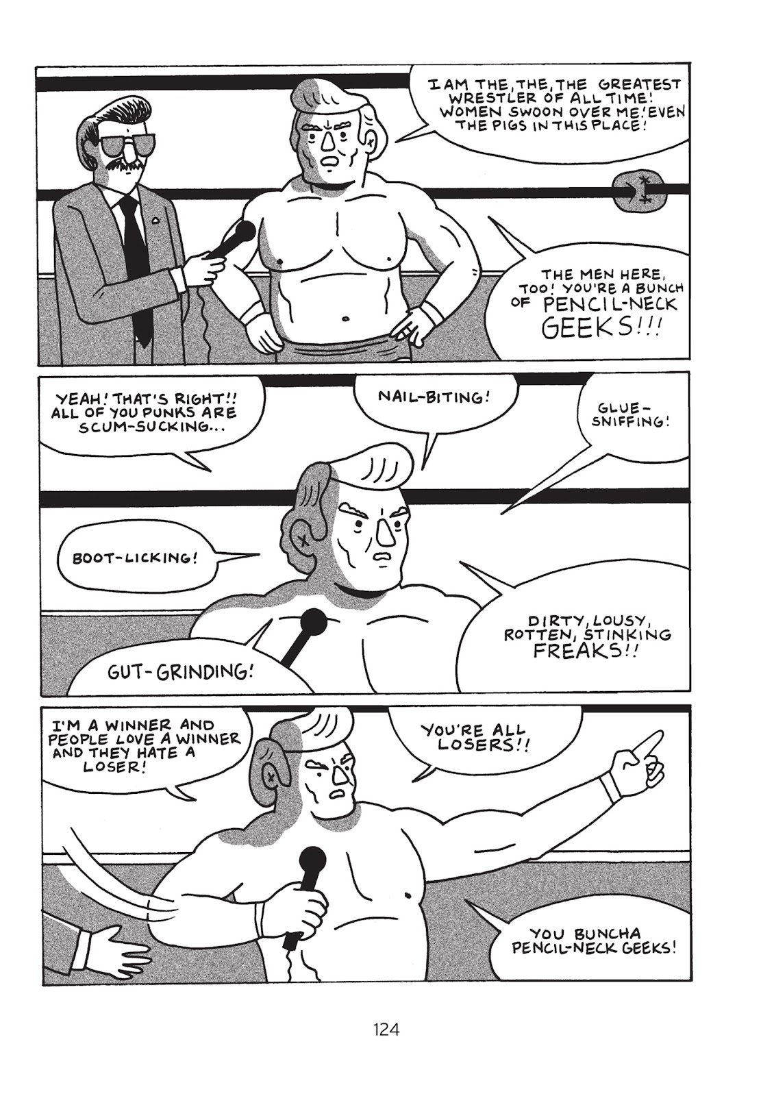 Read online Is This Guy For Real?: The Unbelievable Andy Kaufman comic -  Issue # TPB (Part 2) - 30