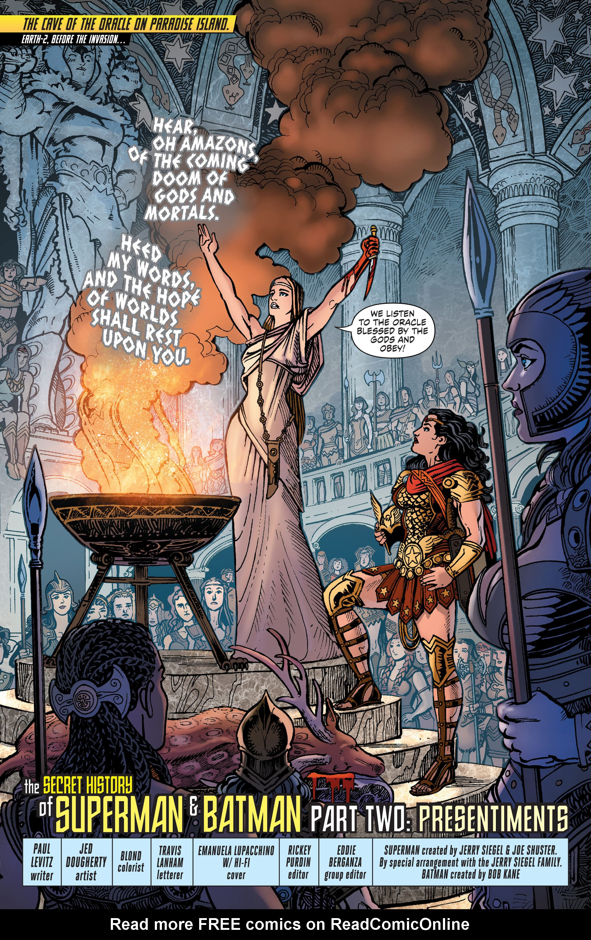Read online Worlds' Finest comic -  Issue #28 - 2
