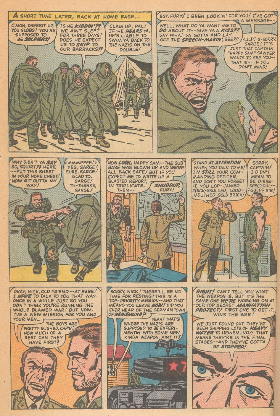 Read online Sgt. Fury comic -  Issue #95 - 10