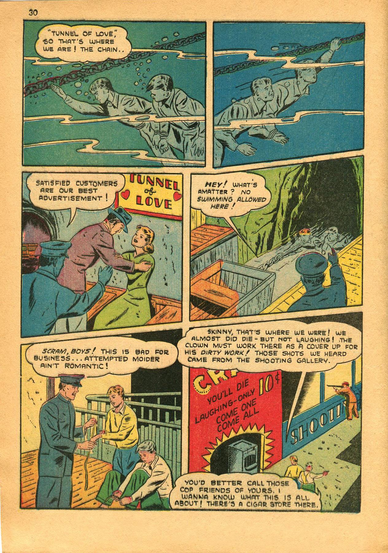 Read online Shadow Comics comic -  Issue #23 - 30