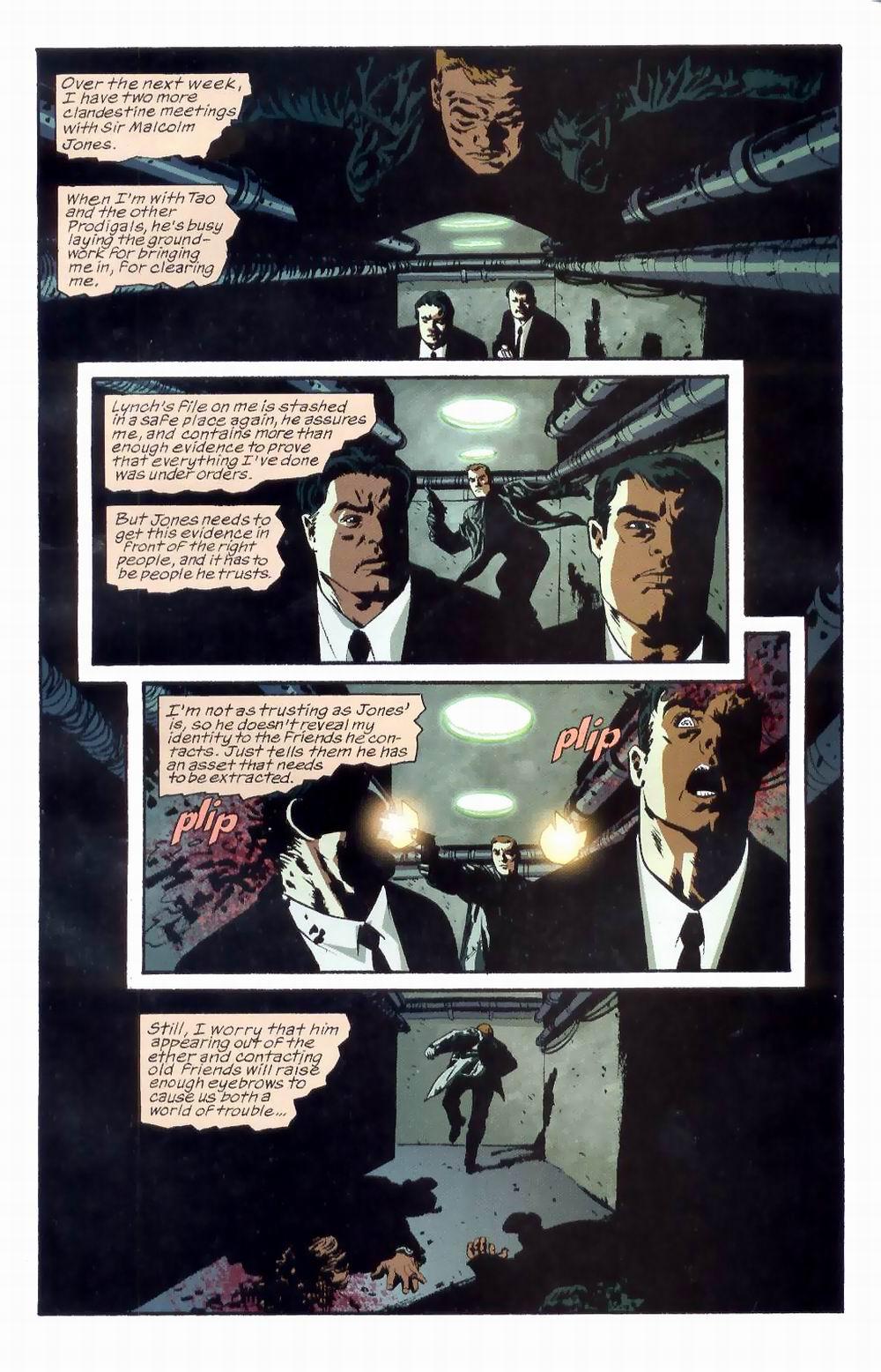 Read online Sleeper comic -  Issue #8 - 9