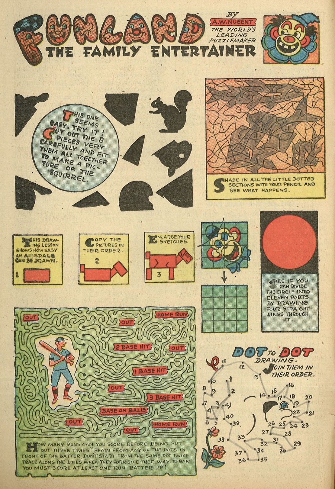 Read online Famous Funnies comic -  Issue #148 - 28