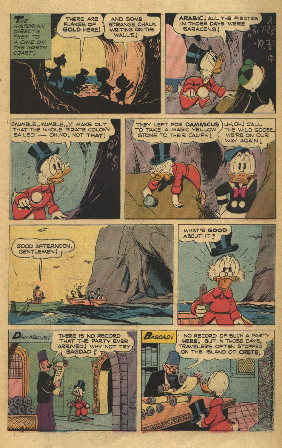 Read online Uncle Scrooge (1953) comic -  Issue #132 - 11
