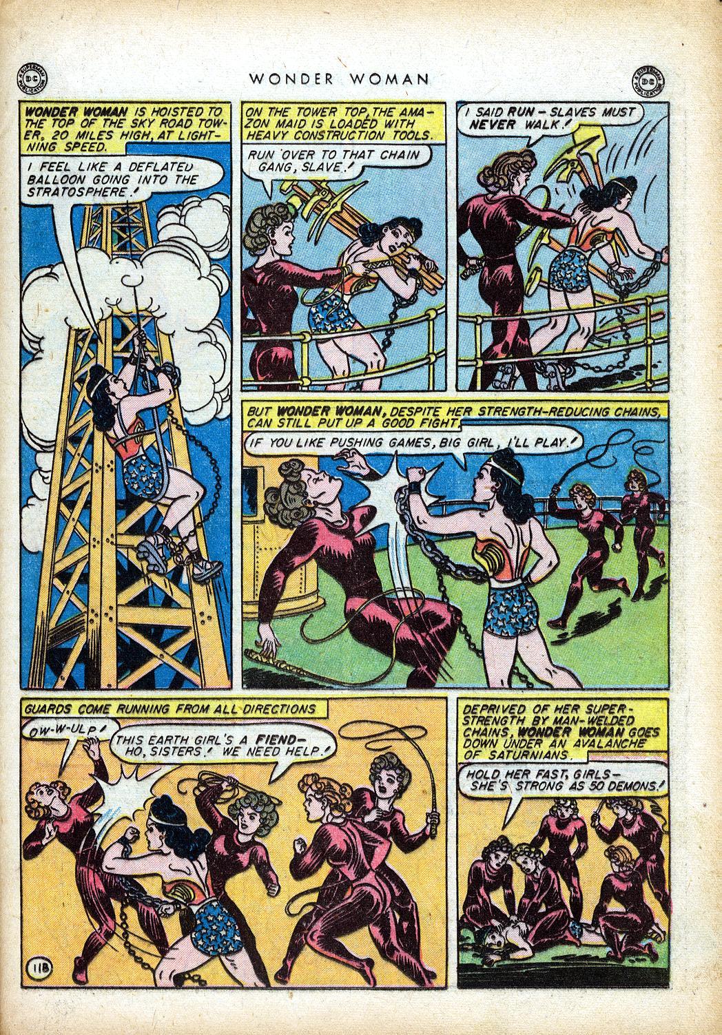 Read online Wonder Woman (1942) comic -  Issue #10 - 32