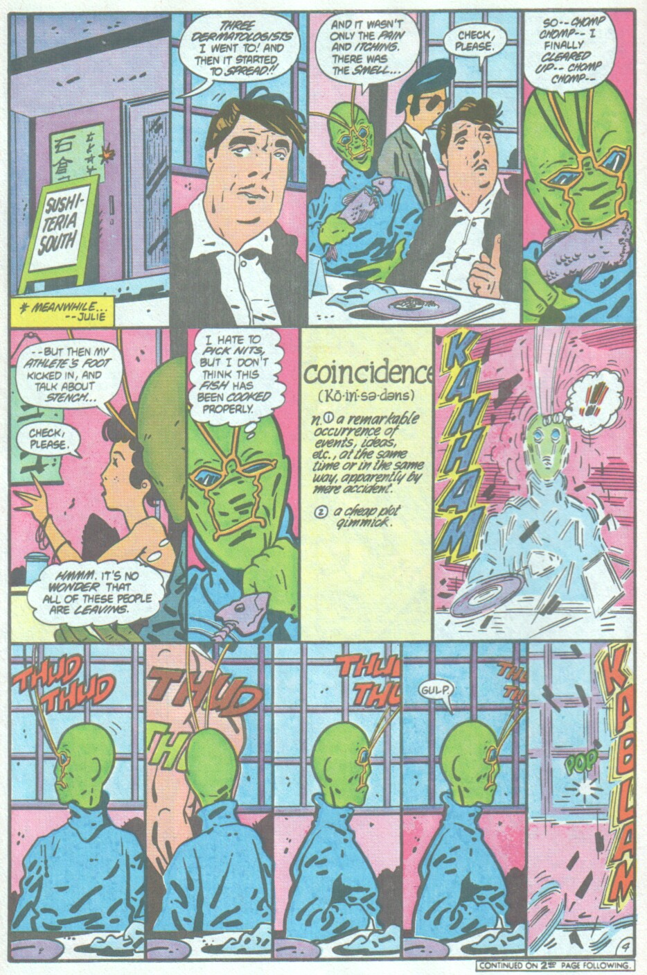Read online Ambush Bug comic -  Issue #4 - 5
