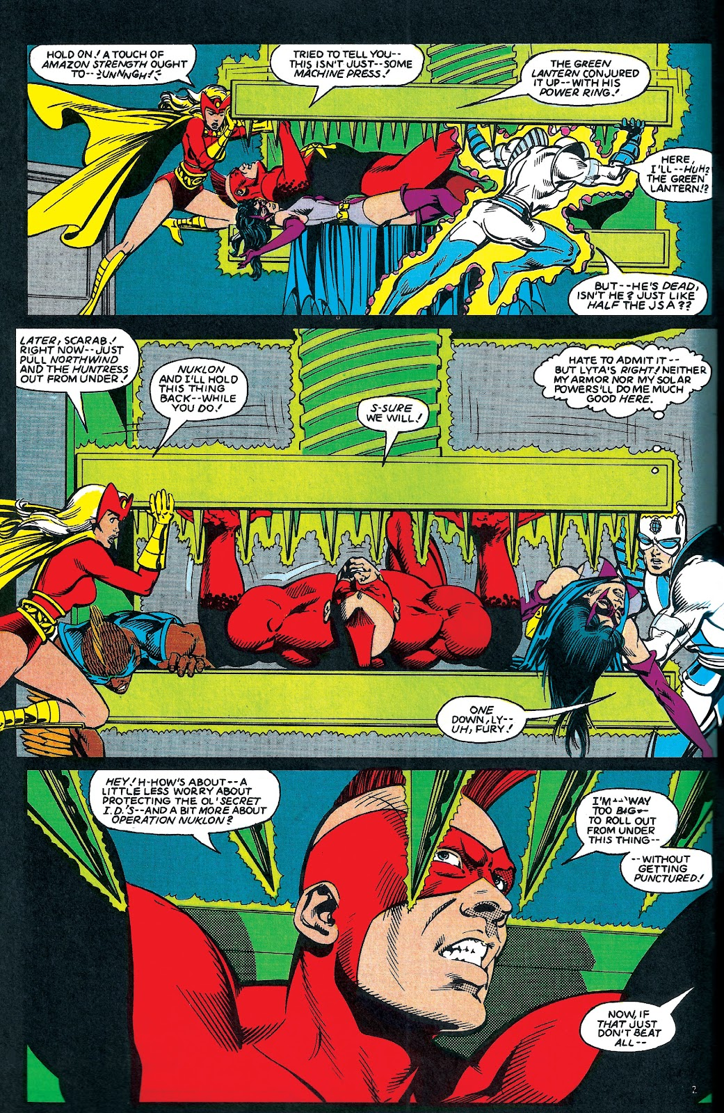 Infinity Inc. (1984) issue 6 - Page 3