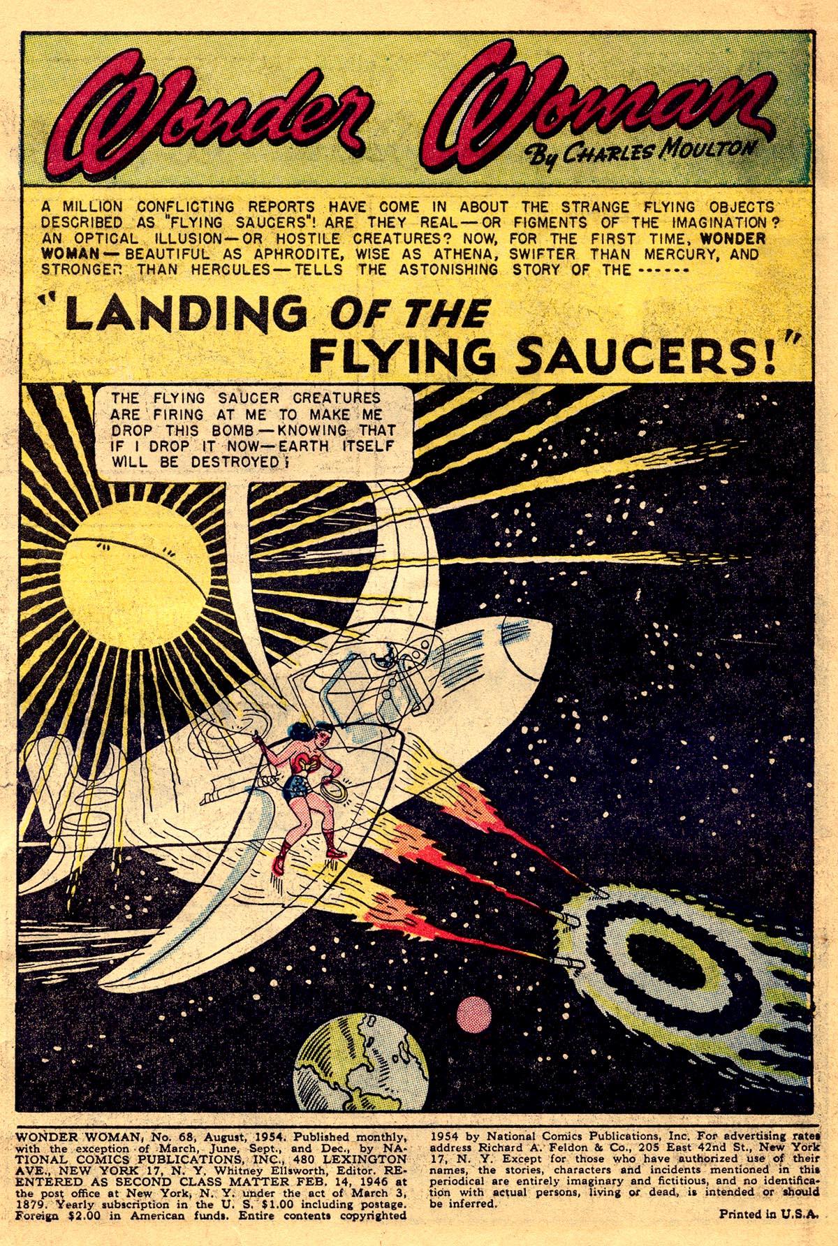Read online Wonder Woman (1942) comic -  Issue #68 - 3