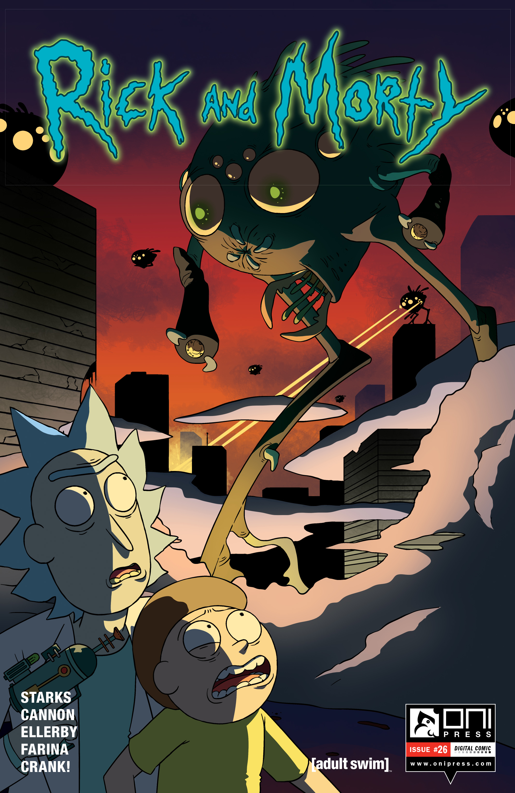 Read online Rick and Morty comic -  Issue #26 - 1