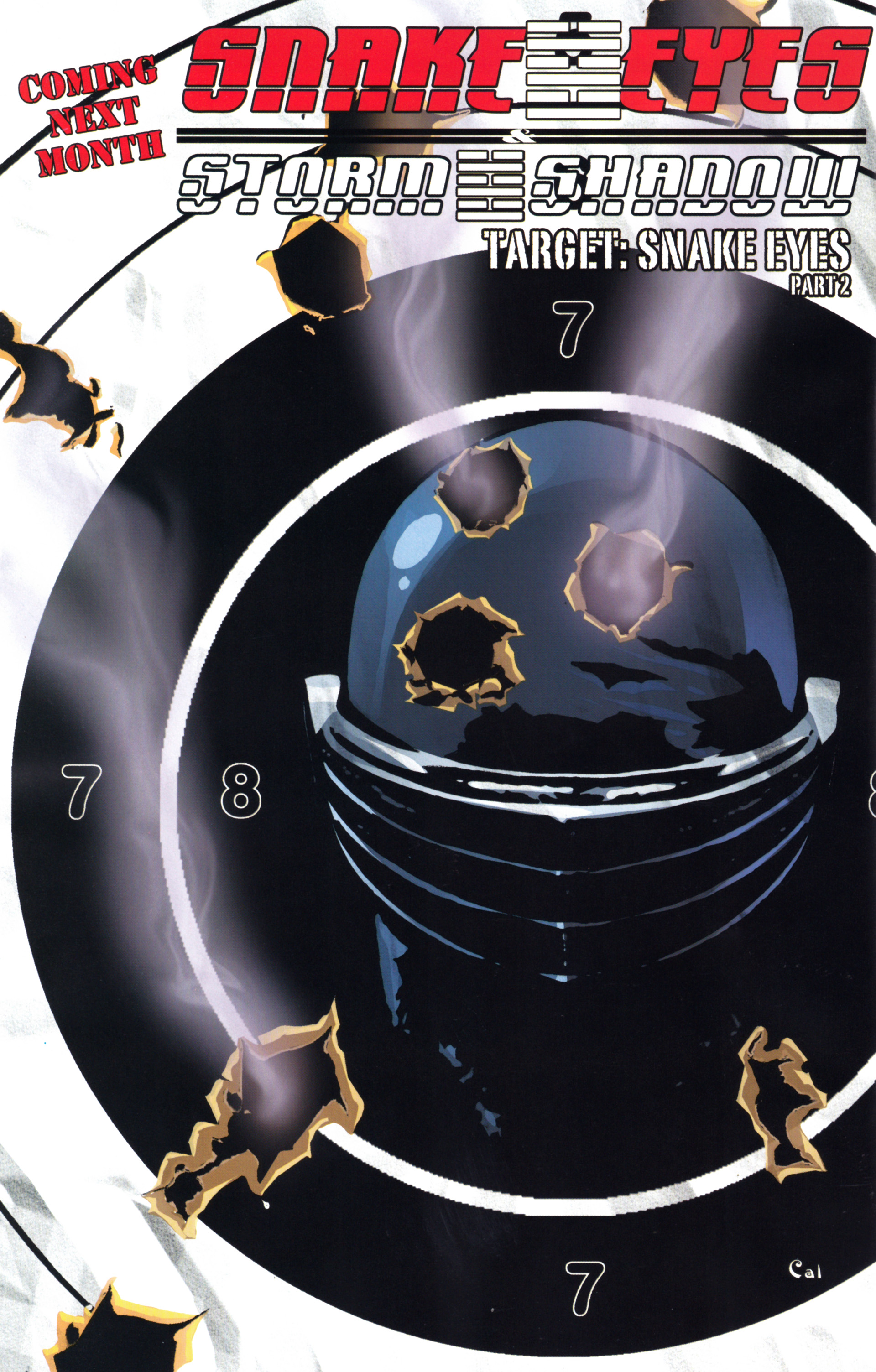 Read online Snake Eyes and Storm Shadow comic -  Issue #17 - 26