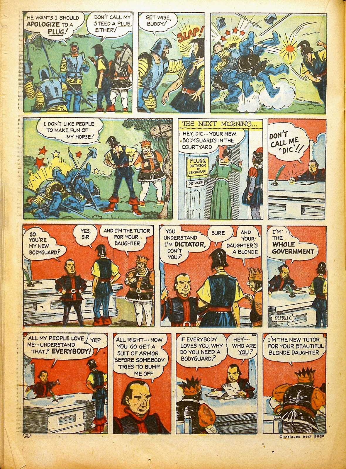 Read online Famous Funnies comic -  Issue #91 - 43