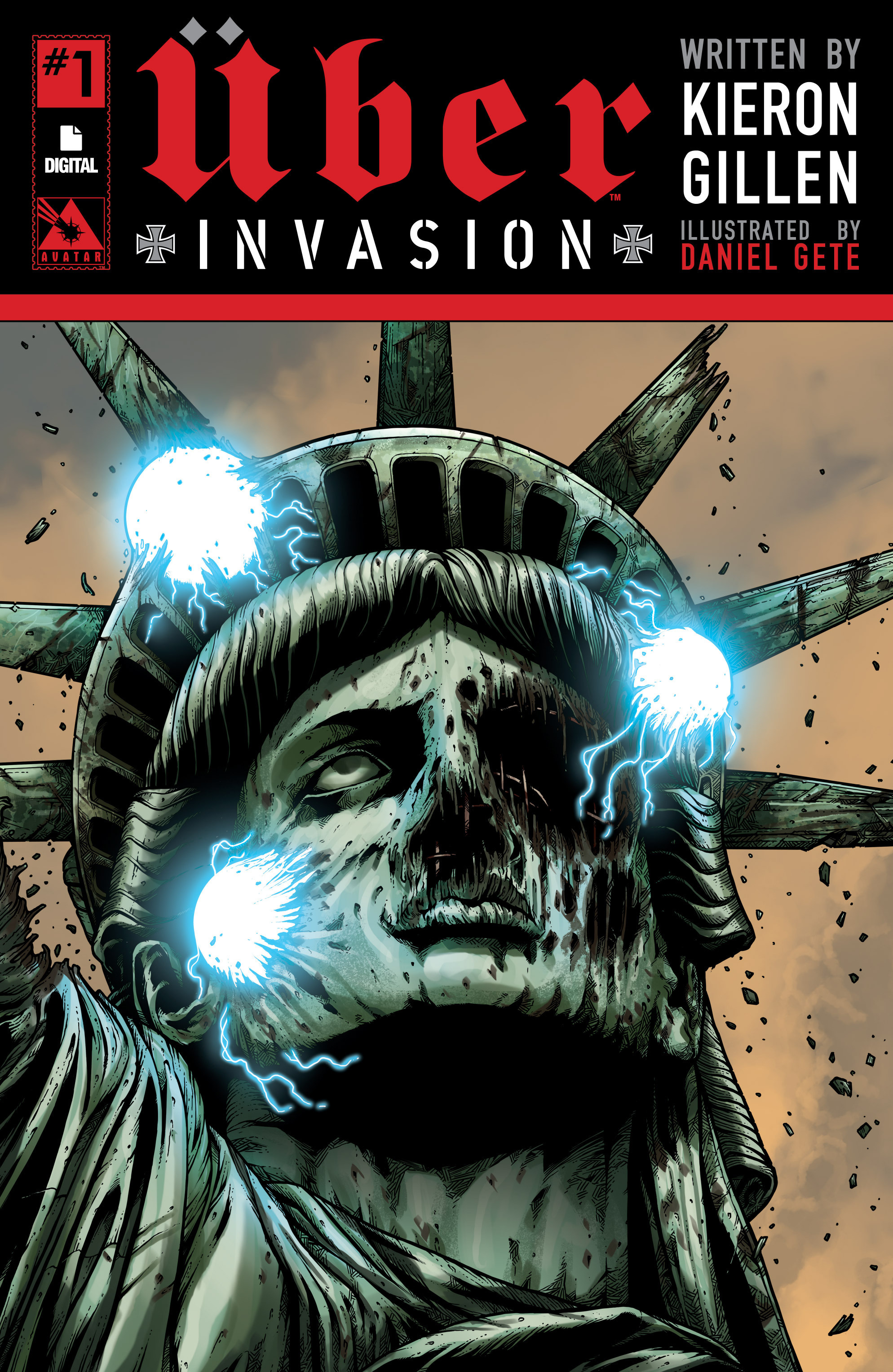 Read online Uber: Invasion comic -  Issue #1 - 1