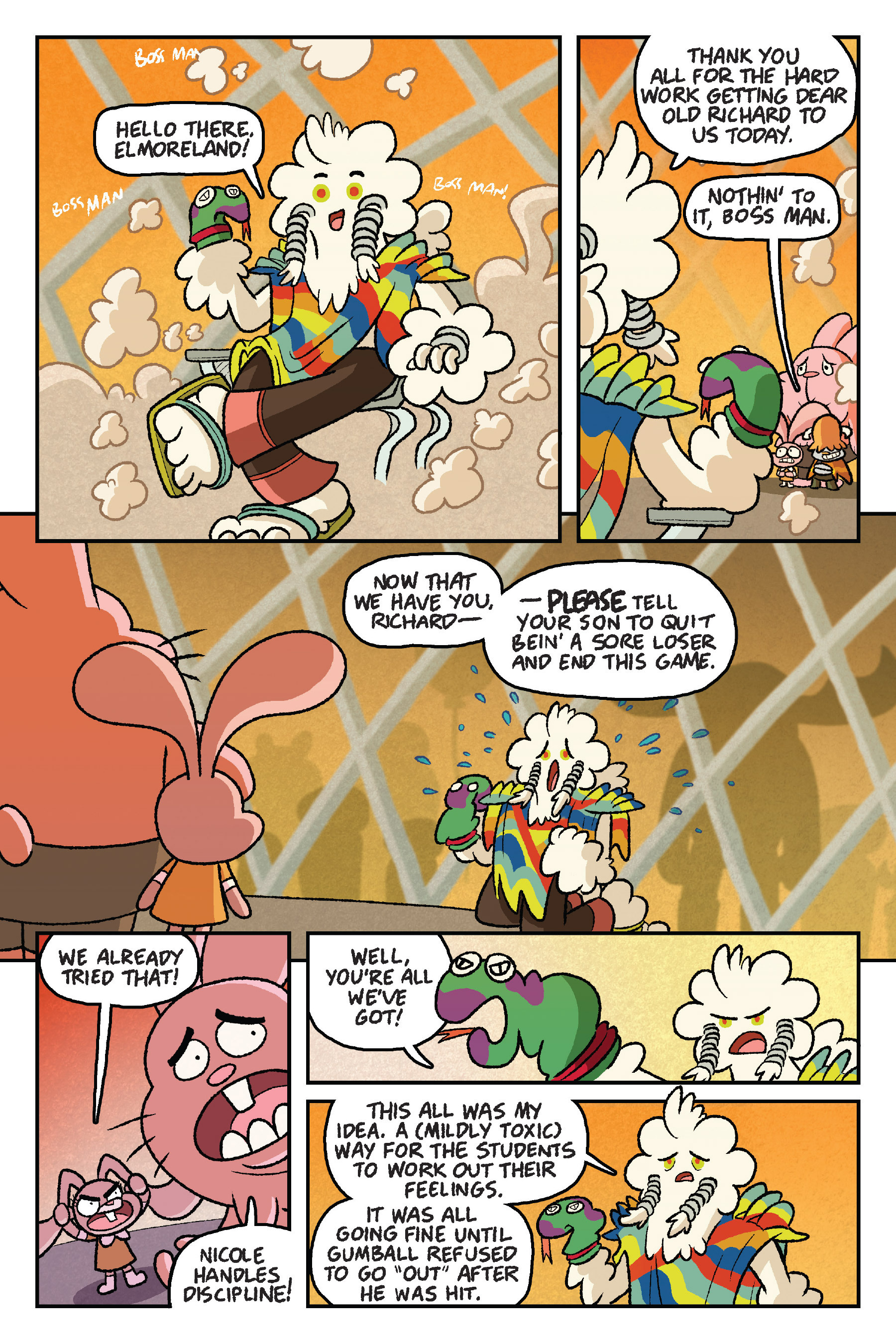 Read online The Amazing World of Gumball: Fairy Tale Trouble comic -  Issue # Full - 152