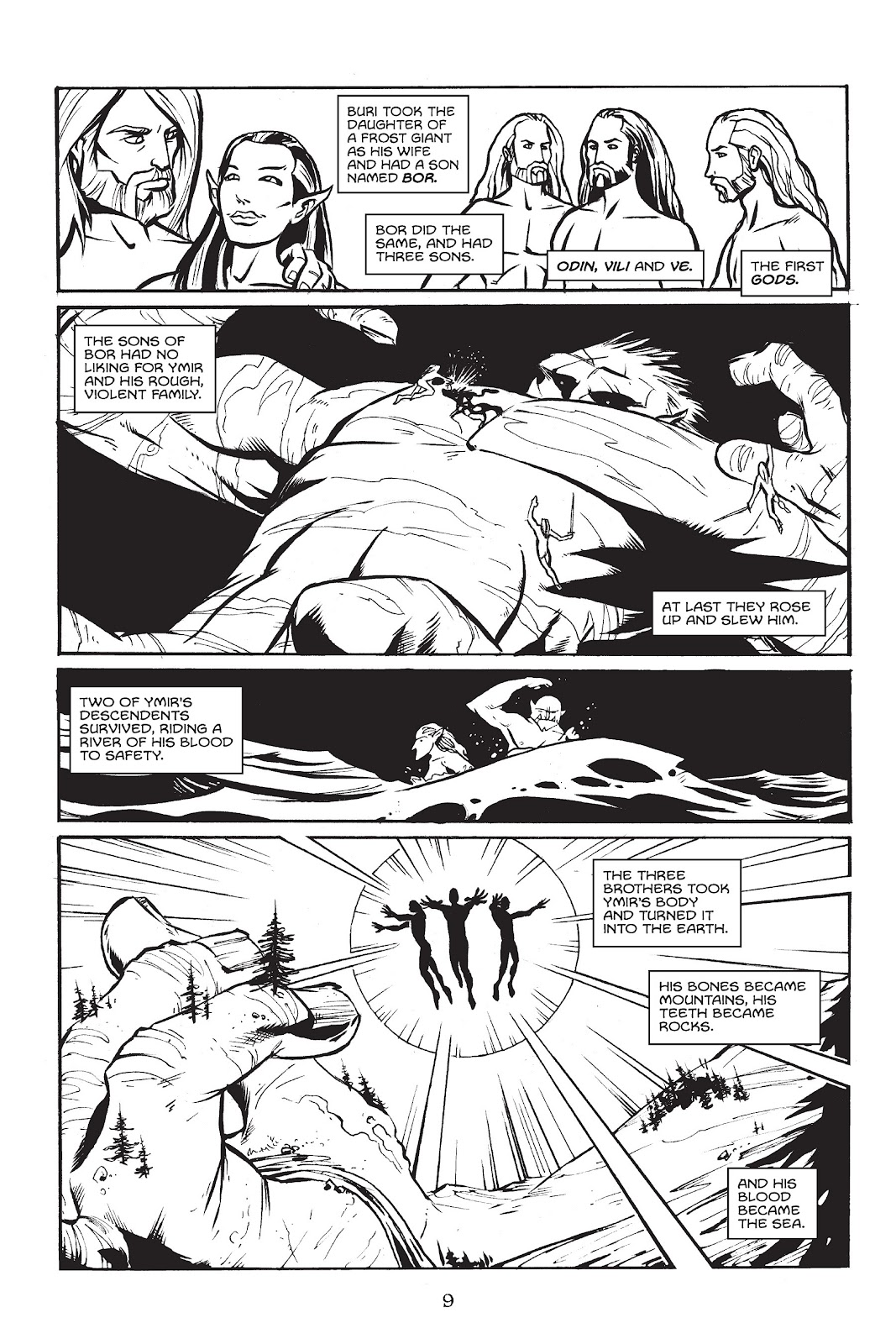 Read online Gods of Asgard comic -  Issue # TPB (Part 1) - 10