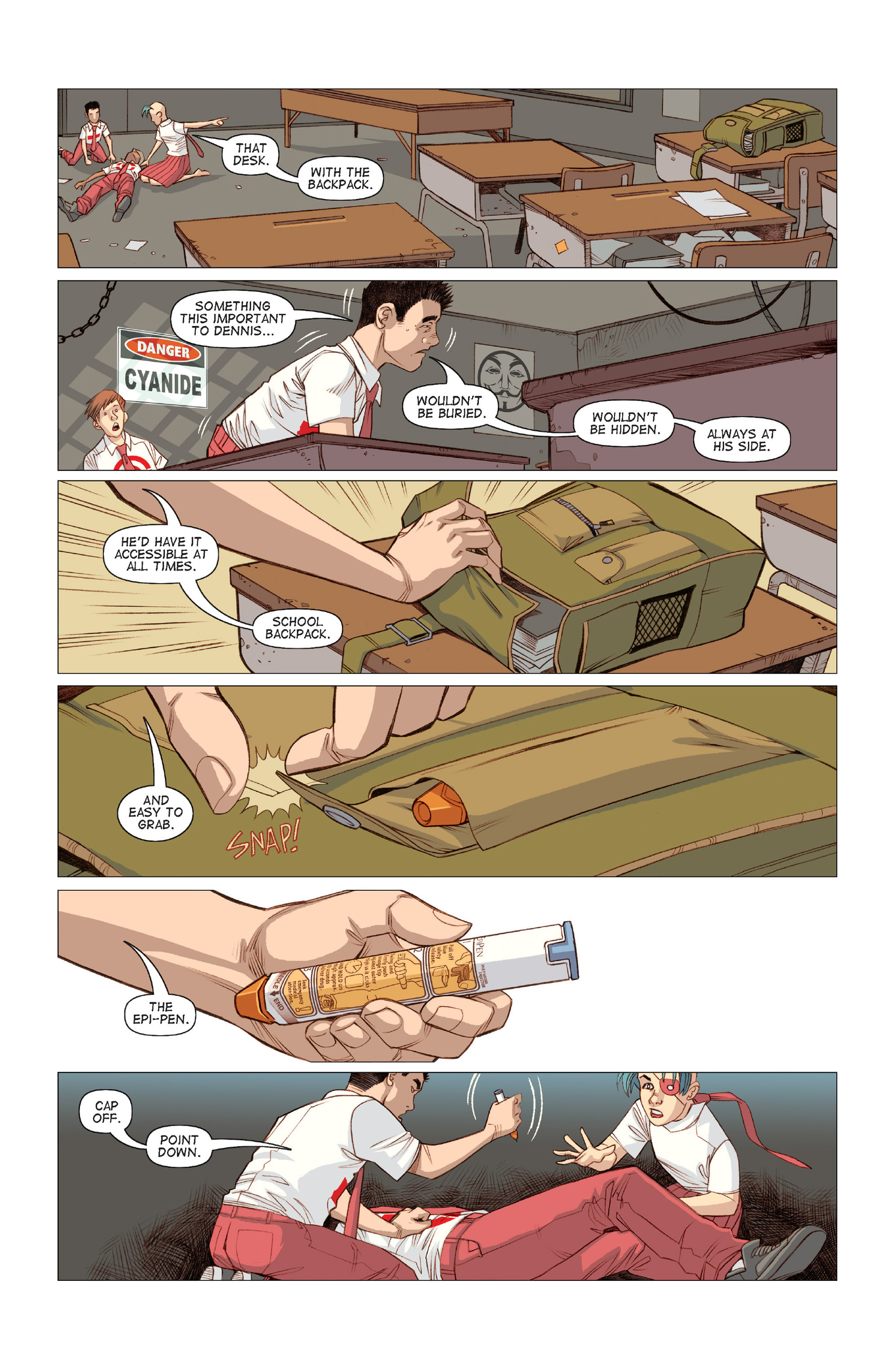 Read online Five Weapons comic -  Issue #9 - 4