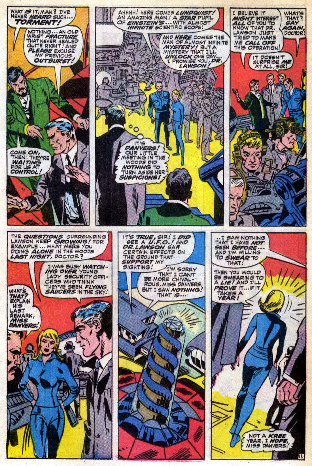 Captain Marvel (1968) Issue #6 #6 - English 12