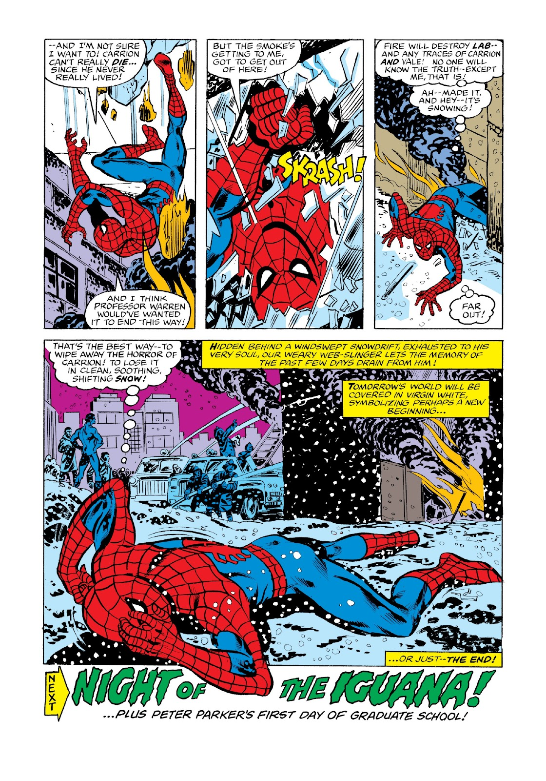 Read online Marvel Masterworks: The Spectacular Spider-Man comic -  Issue # TPB 2 (Part 3) - 97