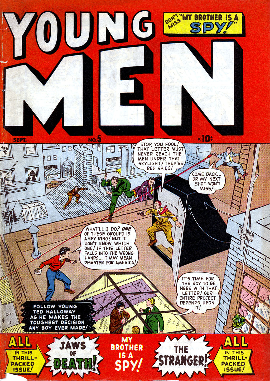 Young Men issue 5 - Page 1