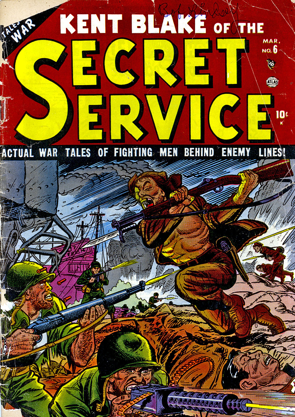 Kent Blake of the Secret Service issue 6 - Page 1