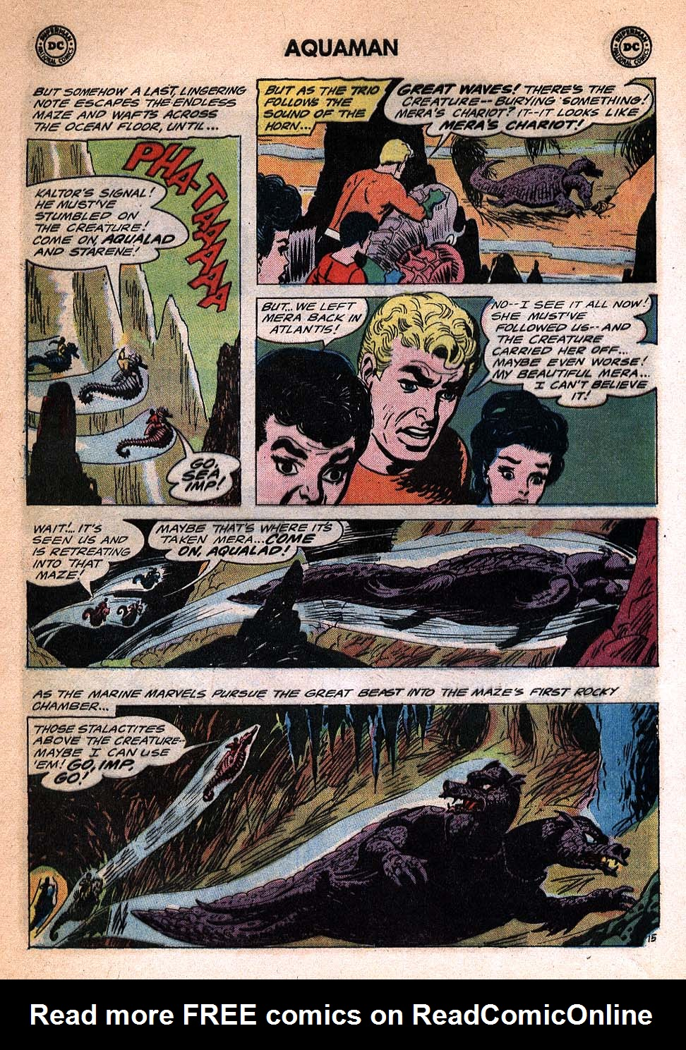 Read online Aquaman (1962) comic -  Issue #20 - 20