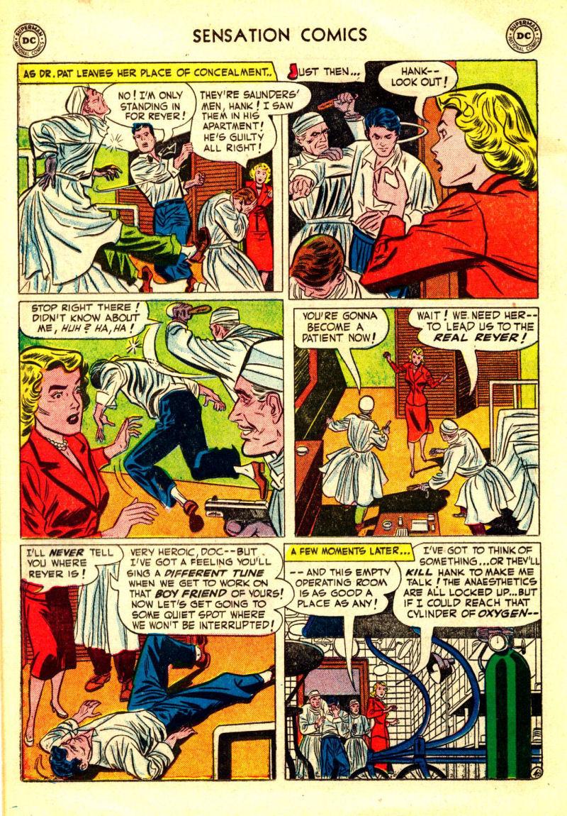 Read online Sensation (Mystery) Comics comic -  Issue #106 - 18