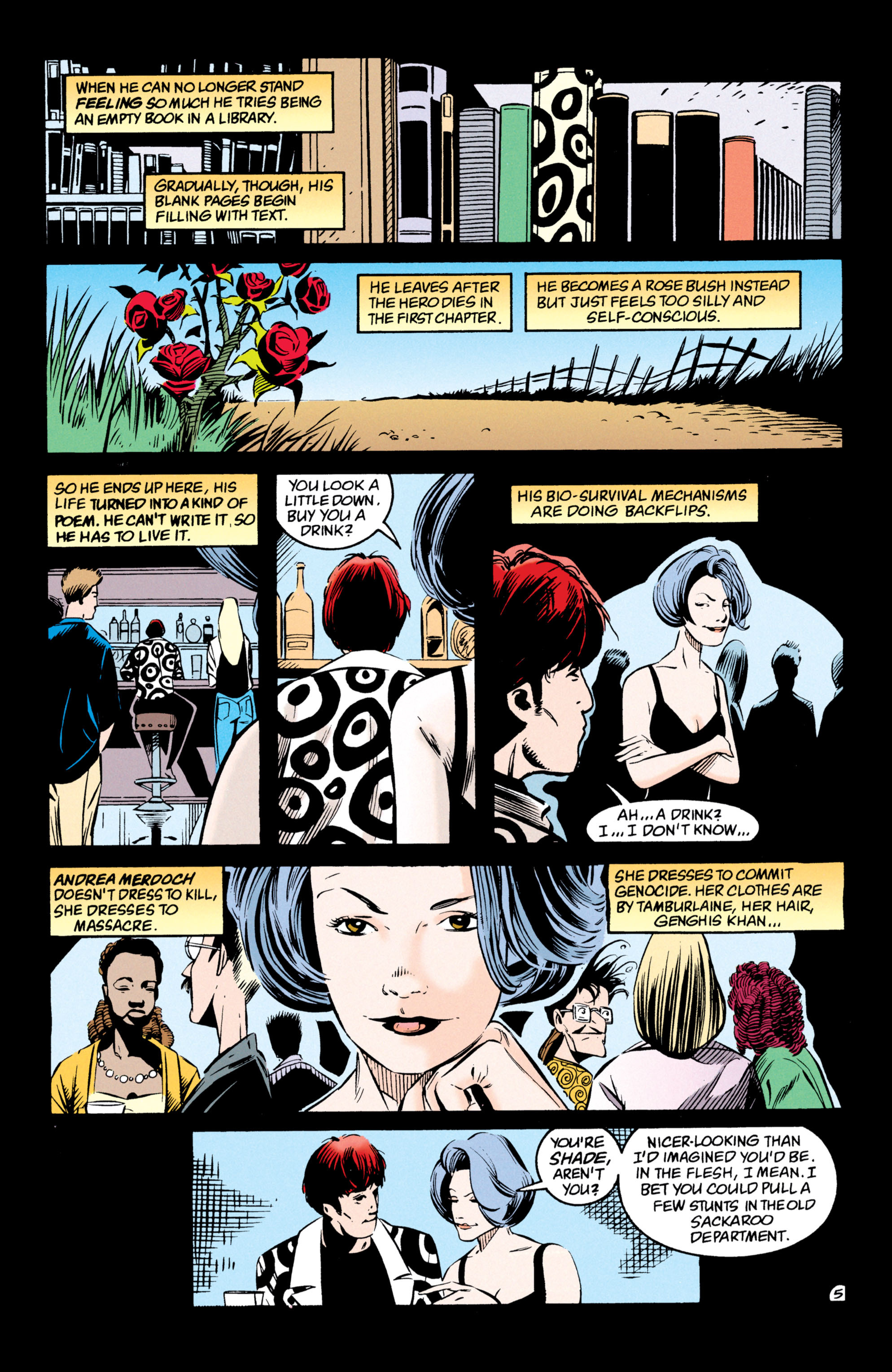 Read online Shade, the Changing Man comic -  Issue #54 - 6